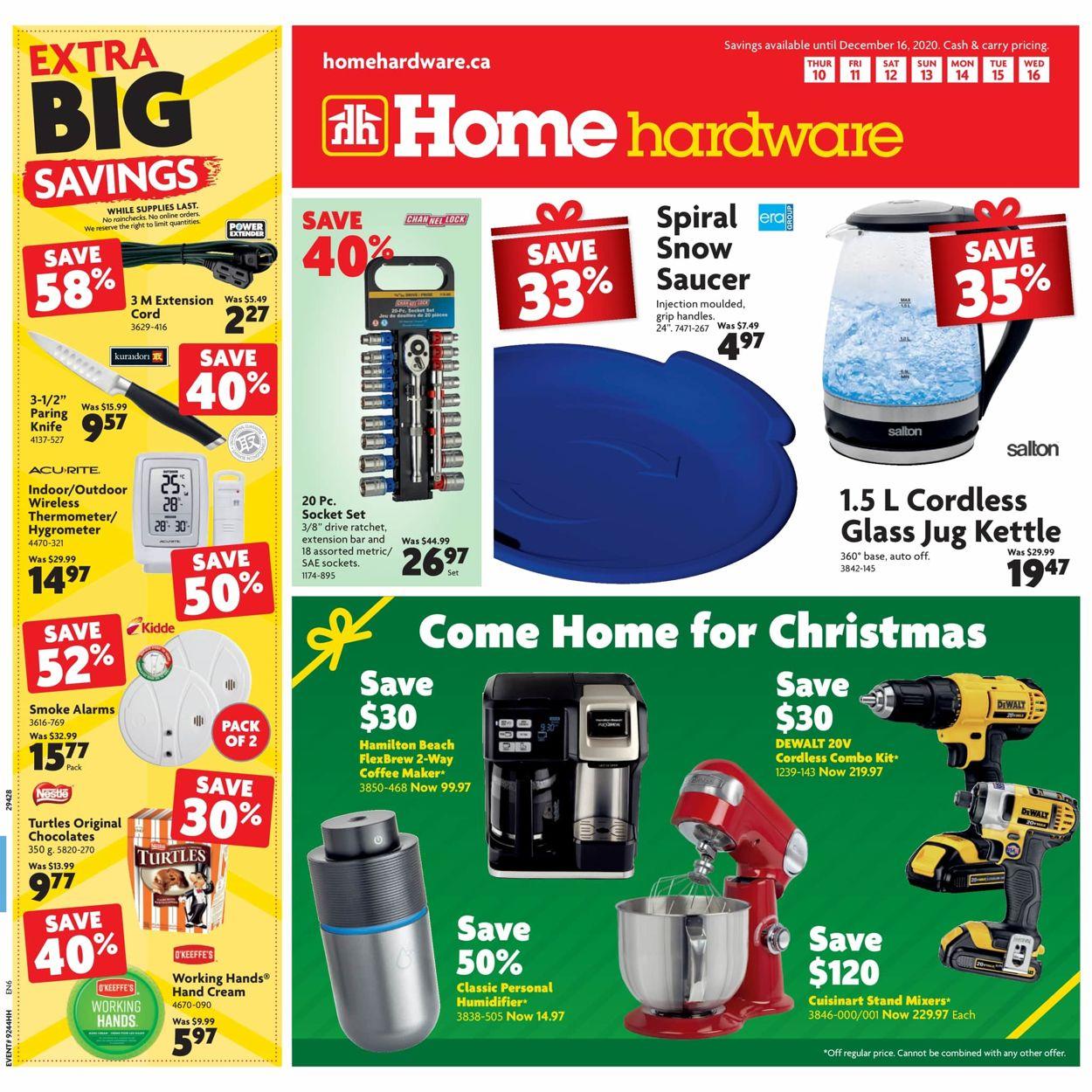 Home Hardware - Christmas 2020 Flyer - 12/10-12/16/2020