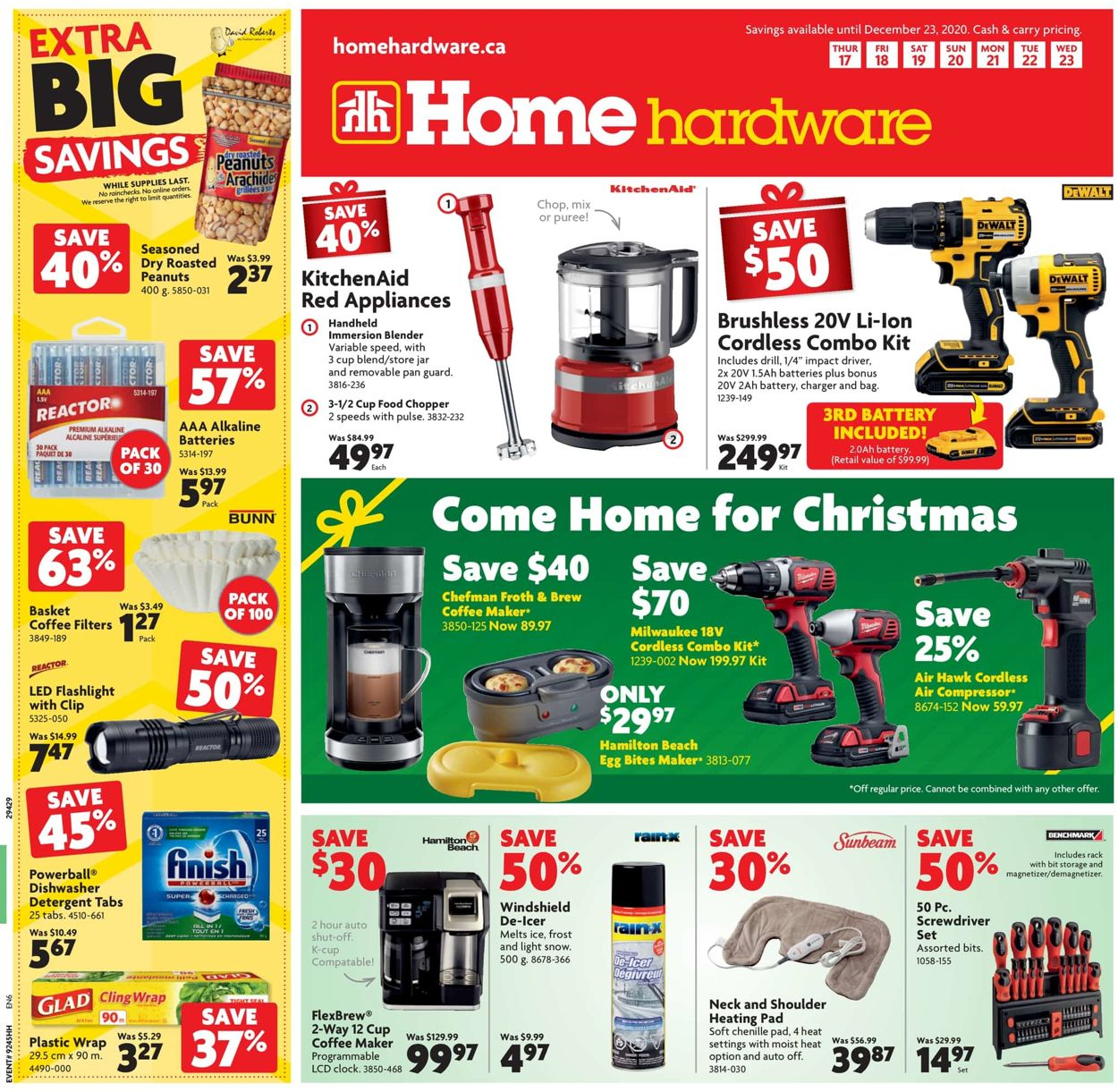 Home Hardware - Christmas 2020 Flyer - 12/17-12/23/2020
