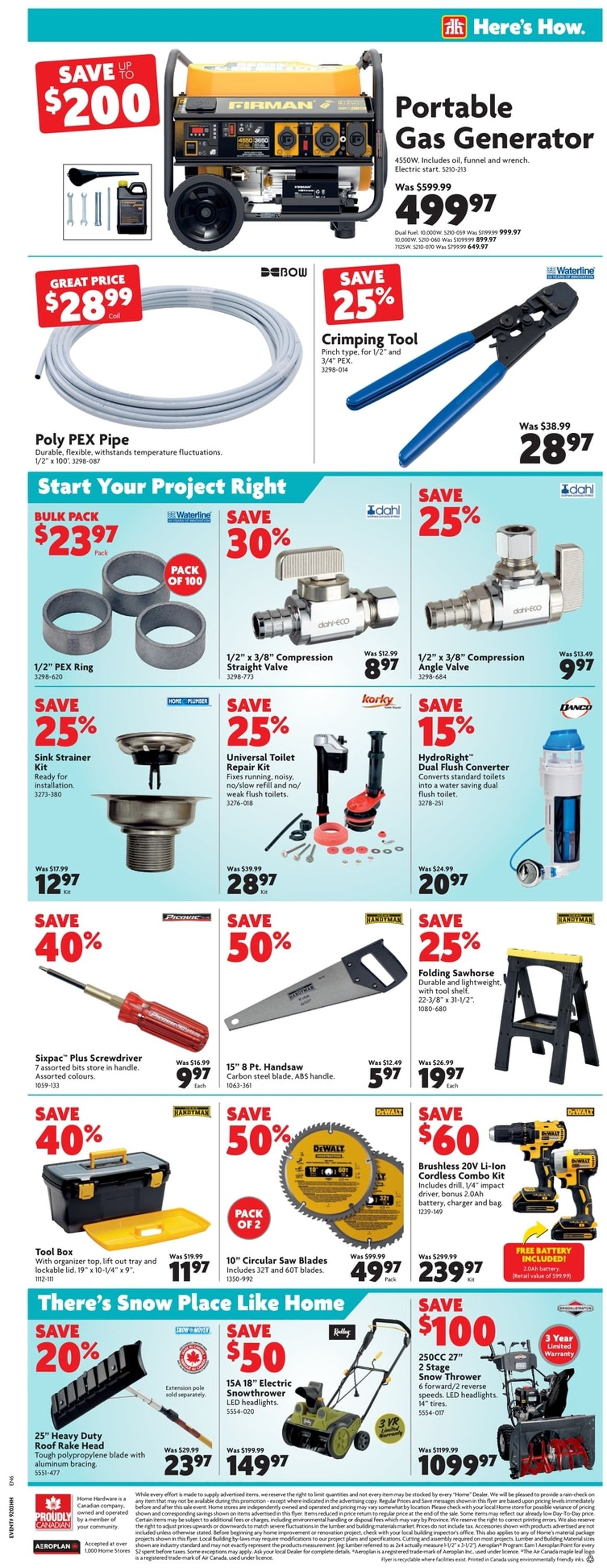 Home Hardware Flyer - 01/21-02/03/2021 (Page 6)