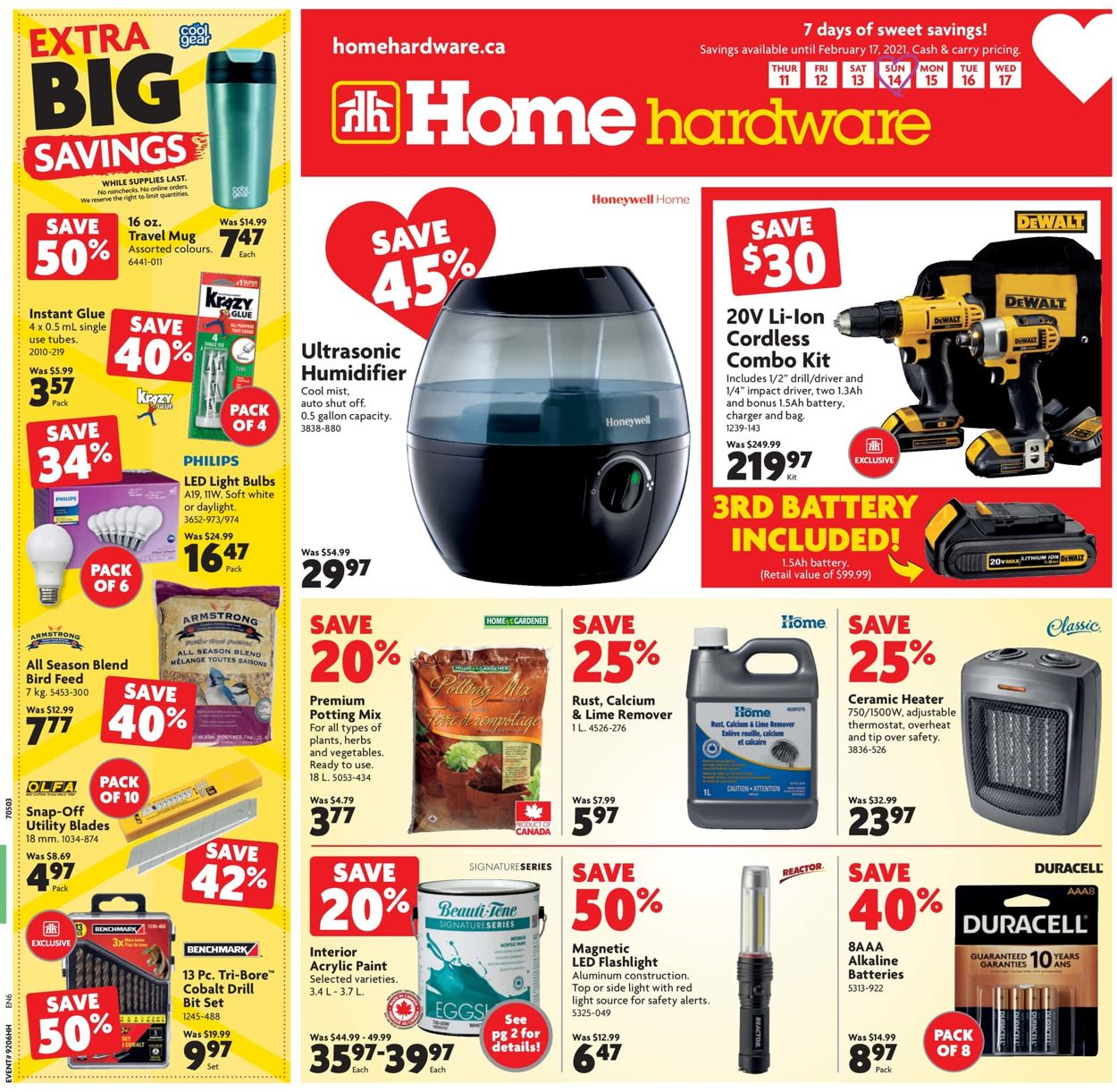 Home Hardware Flyer - 02/11-02/17/2021