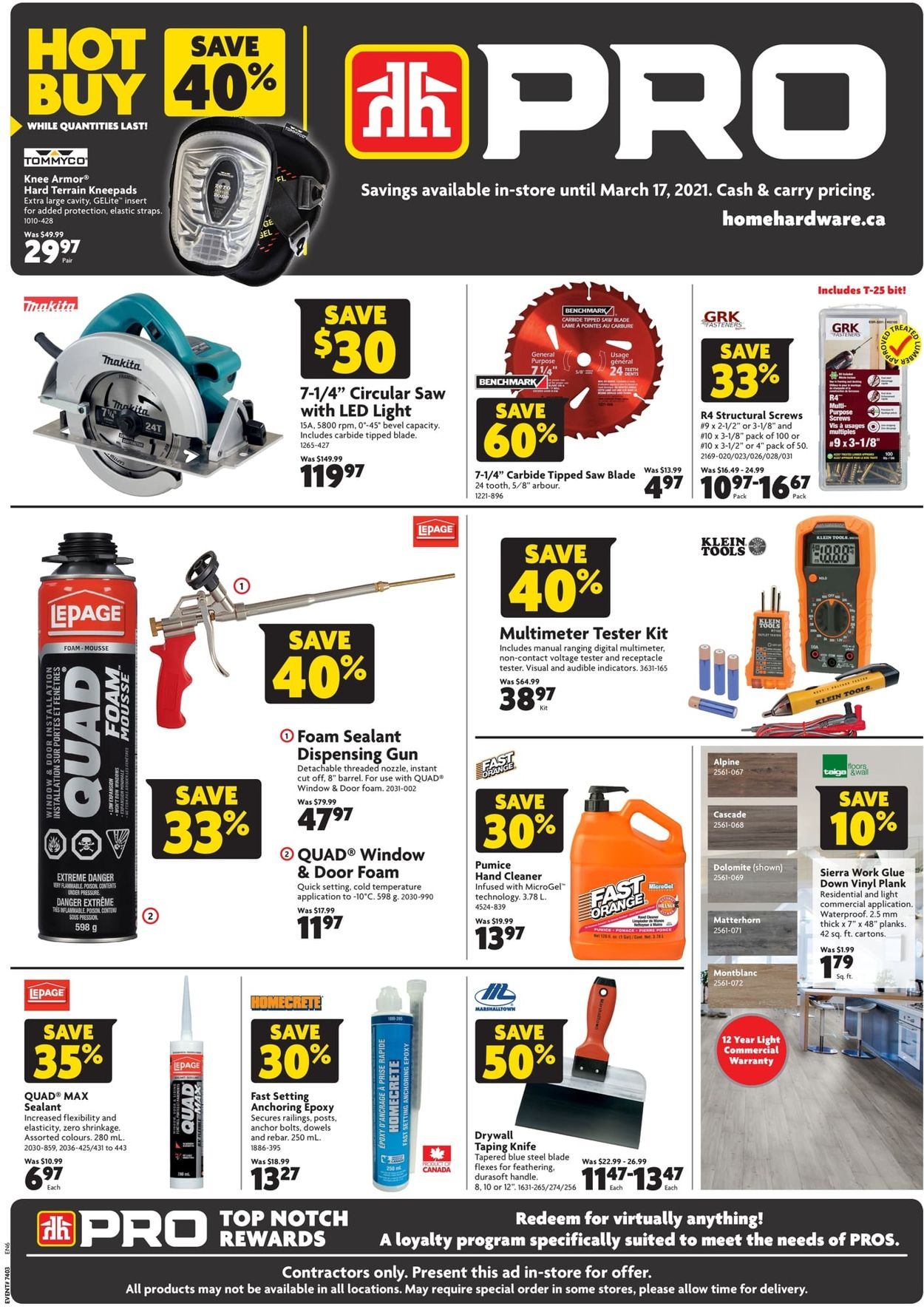 Home Hardware Flyer - 03/04-03/17/2021
