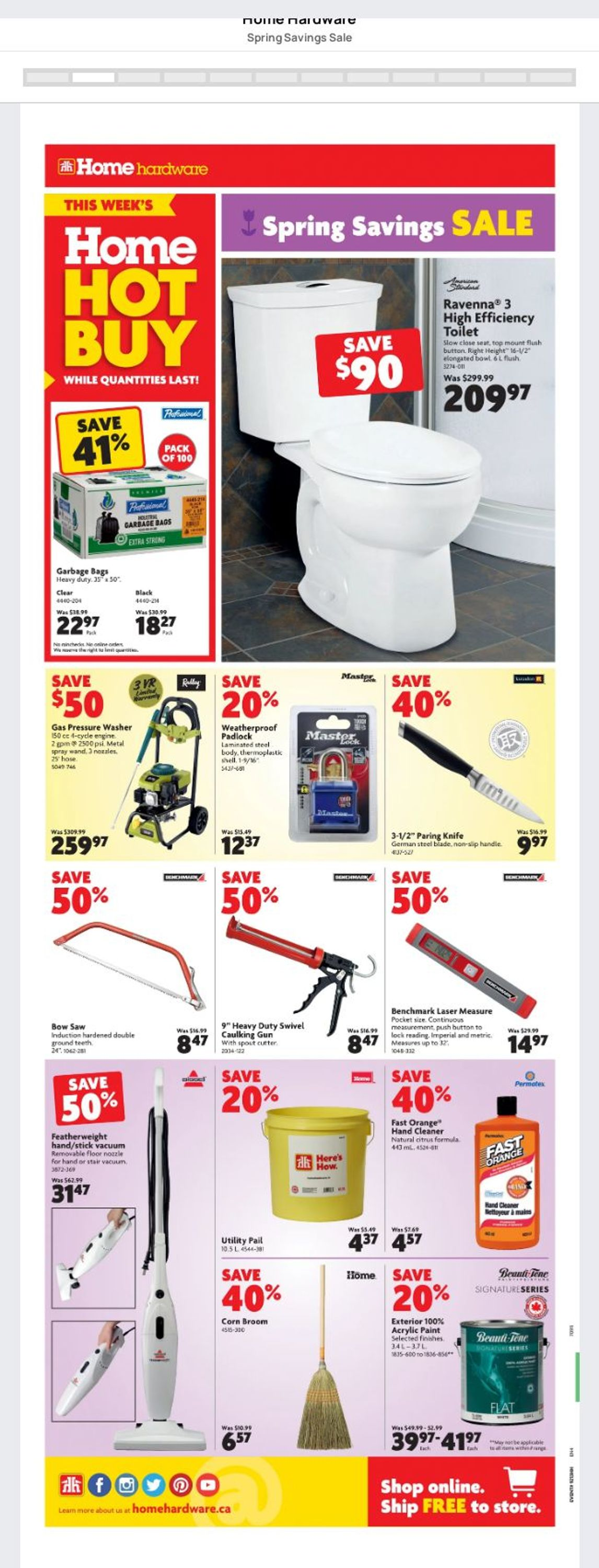 Home Hardware Flyer - 04/01-04/07/2021 (Page 2)