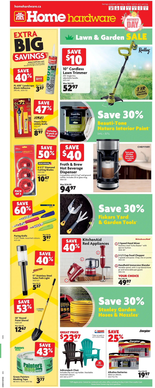 Home Hardware Flyer - 04/29-05/05/2021