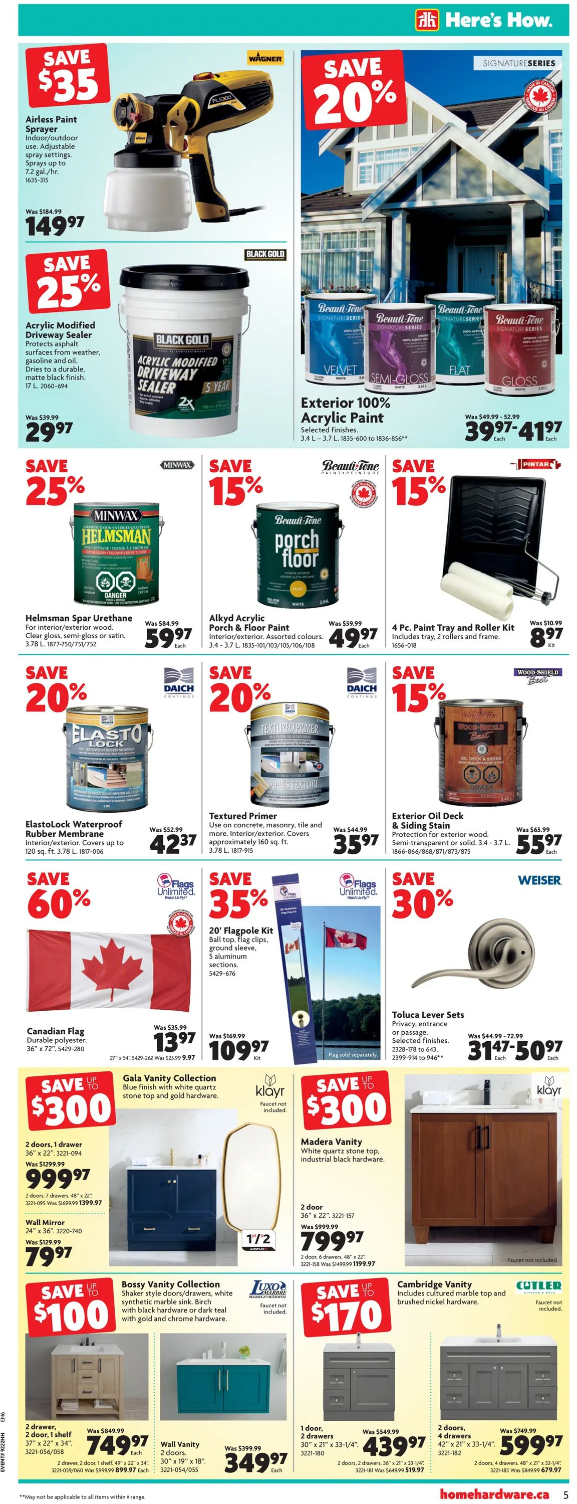 Home Hardware Flyer - 06/03-06/09/2021 (Page 6)