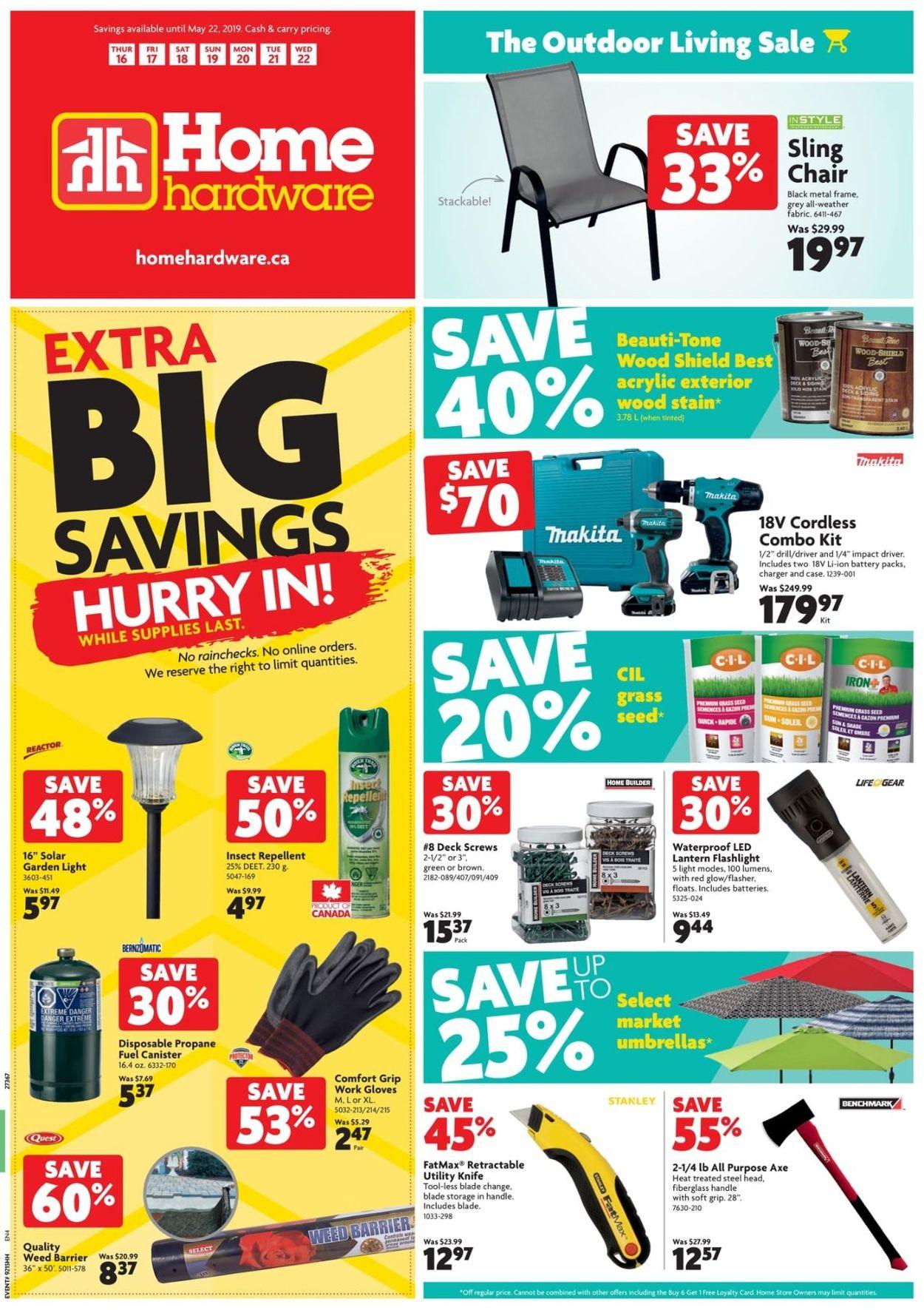 Home Hardware Flyer - 05/16-05/22/2019