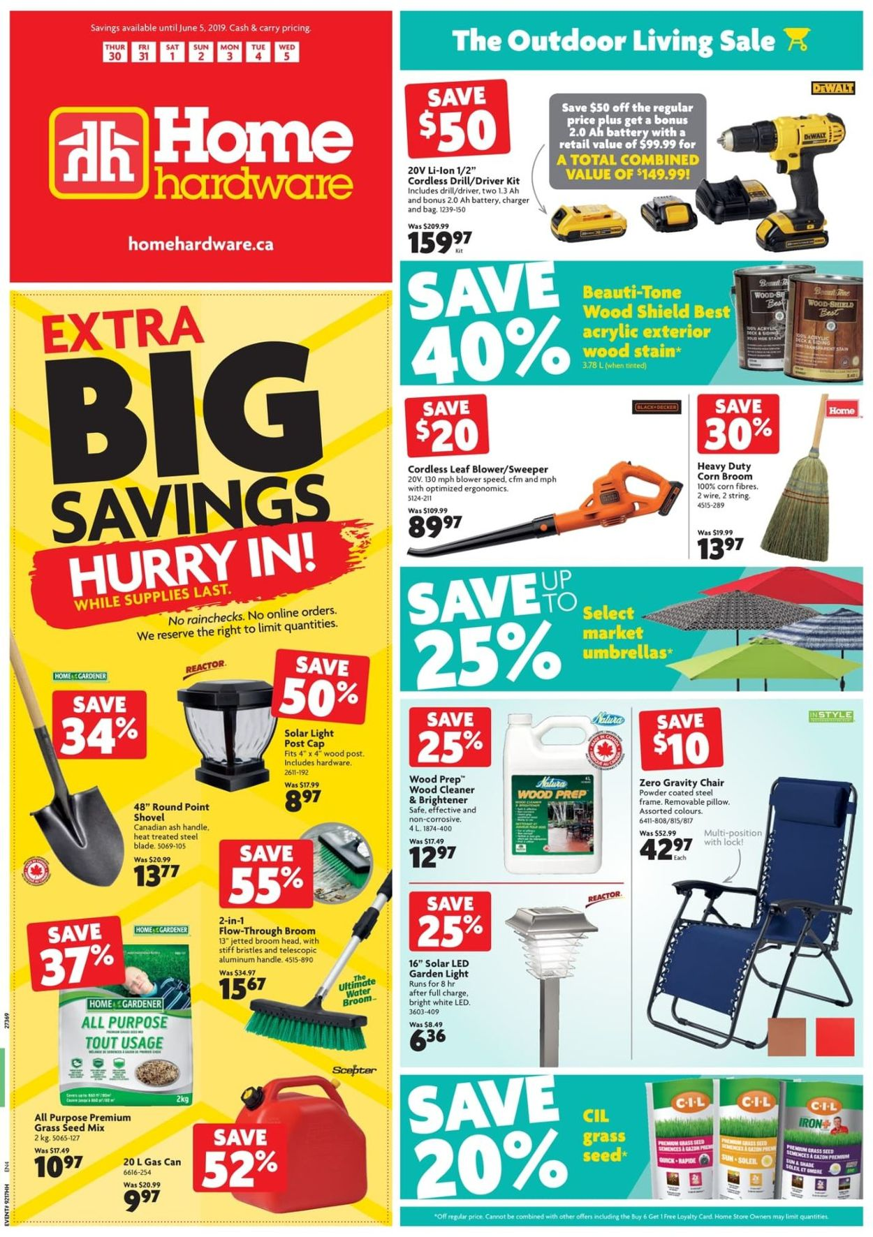 Home Hardware Flyer - 05/30-06/05/2019