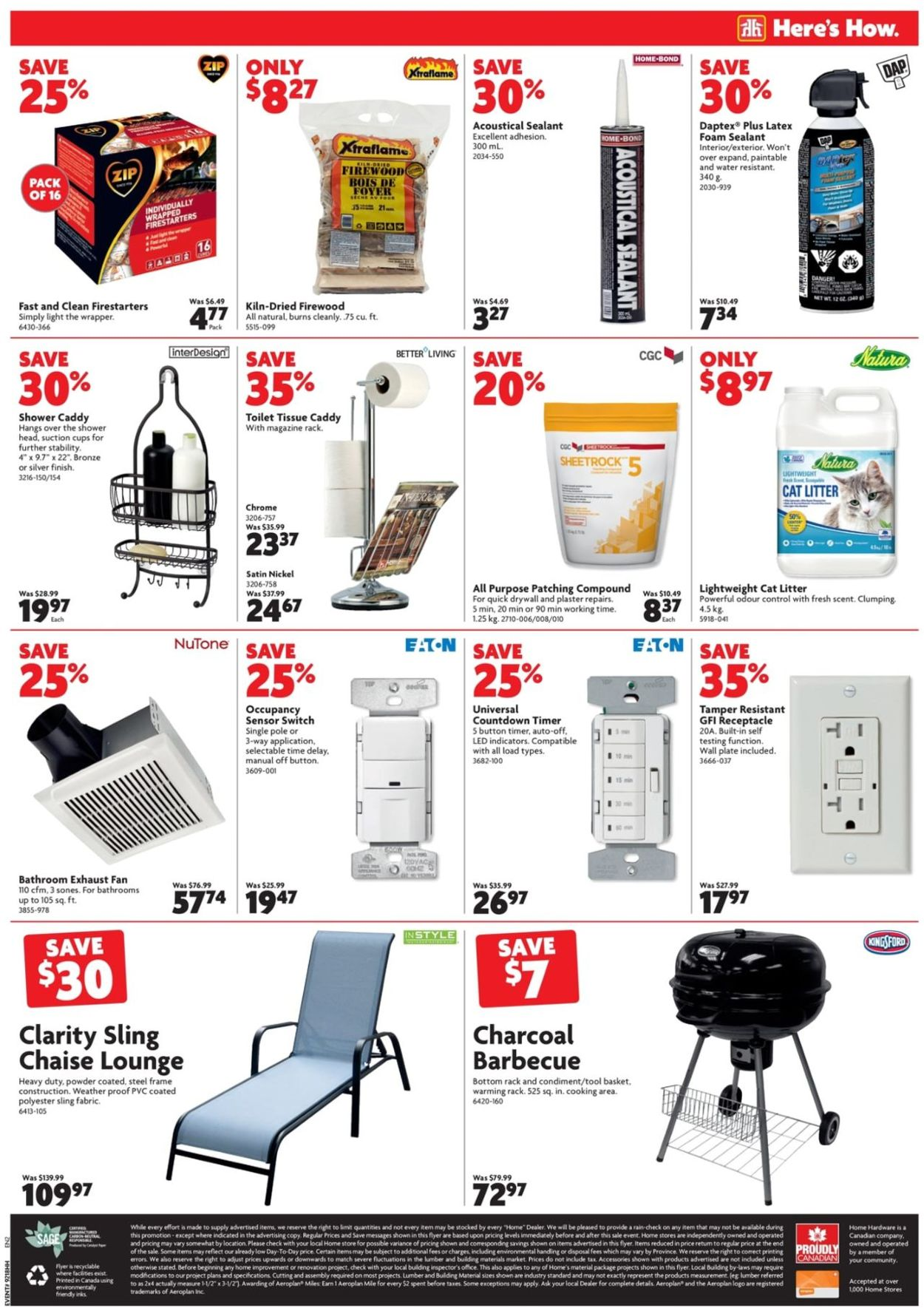 Home Hardware Flyer - 06/06-06/12/2019 (Page 12)
