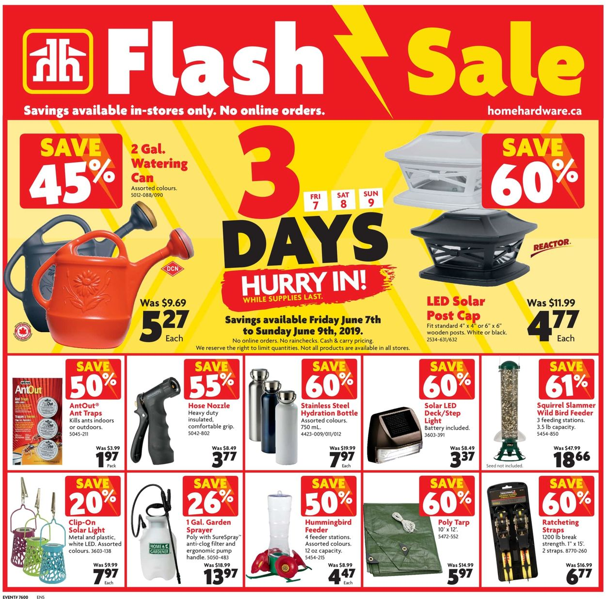Home Hardware Flyer - 06/07-06/08/2019