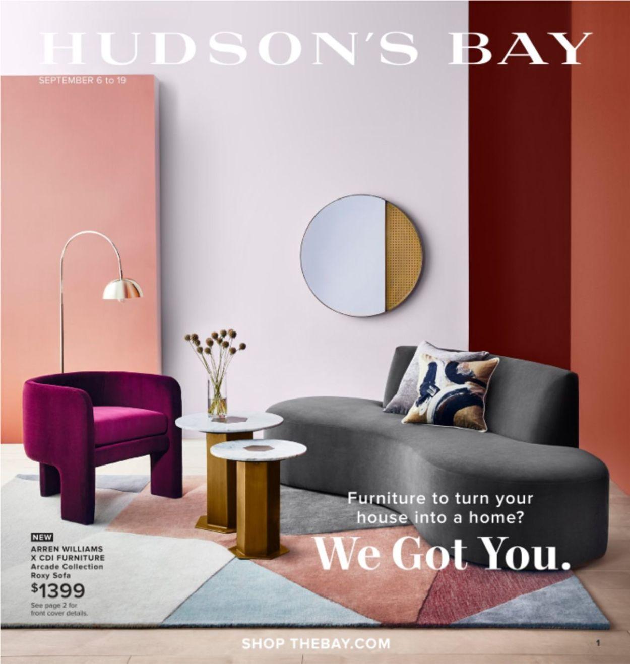 Hudson's Bay Flyer - 09/06-09/19/2019
