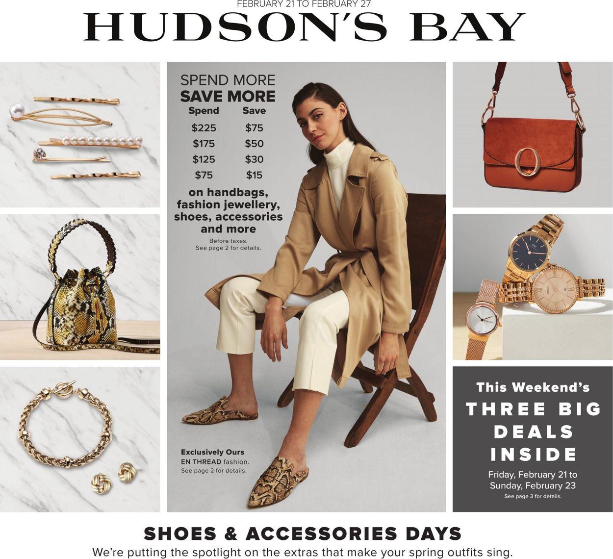 Hudson's Bay Flyer - 02/21-02/27/2020