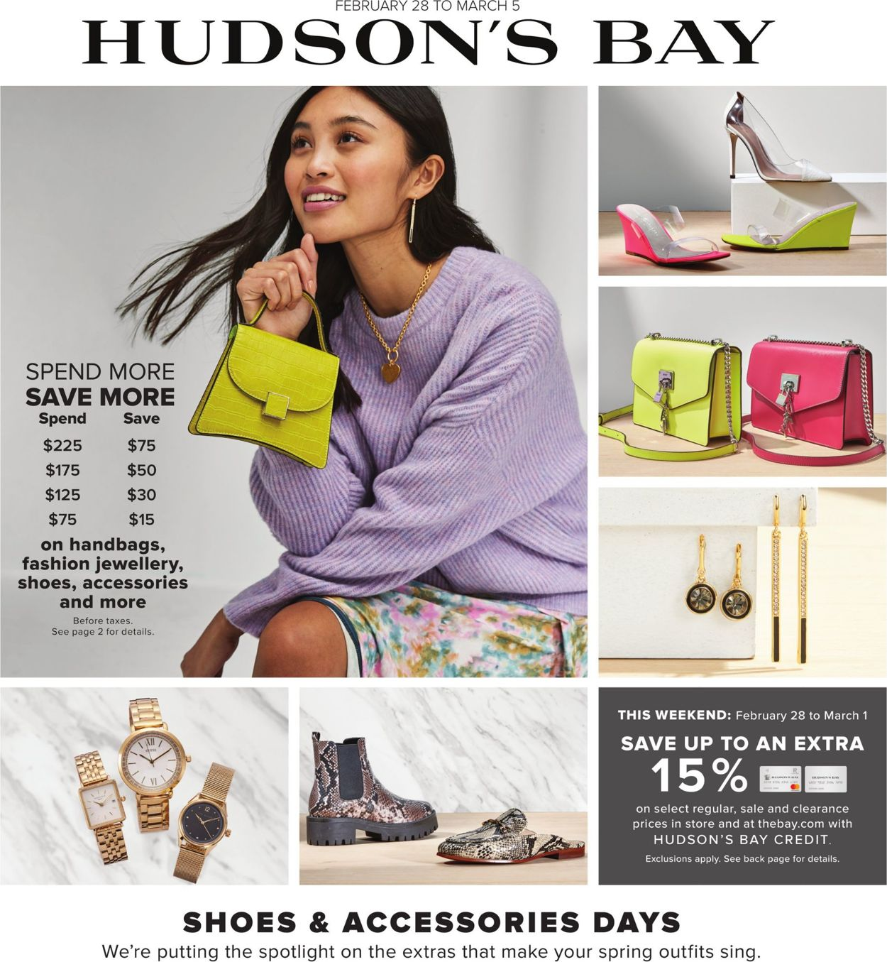 Hudson's Bay Flyer - 02/28-03/05/2020