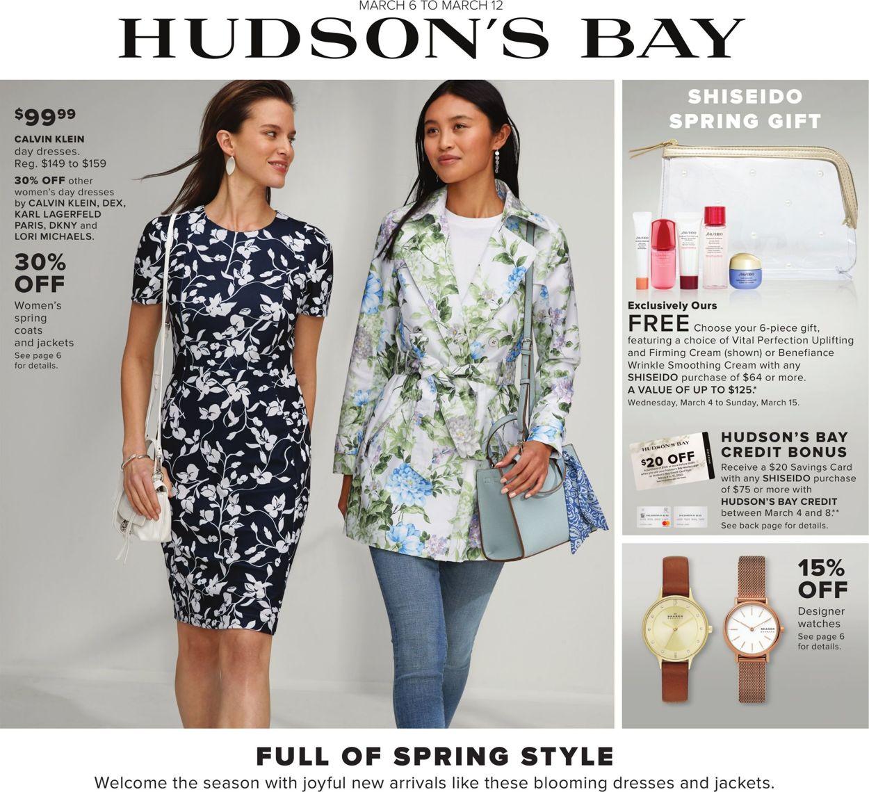 Hudson's Bay Flyer - 03/06-03/12/2020