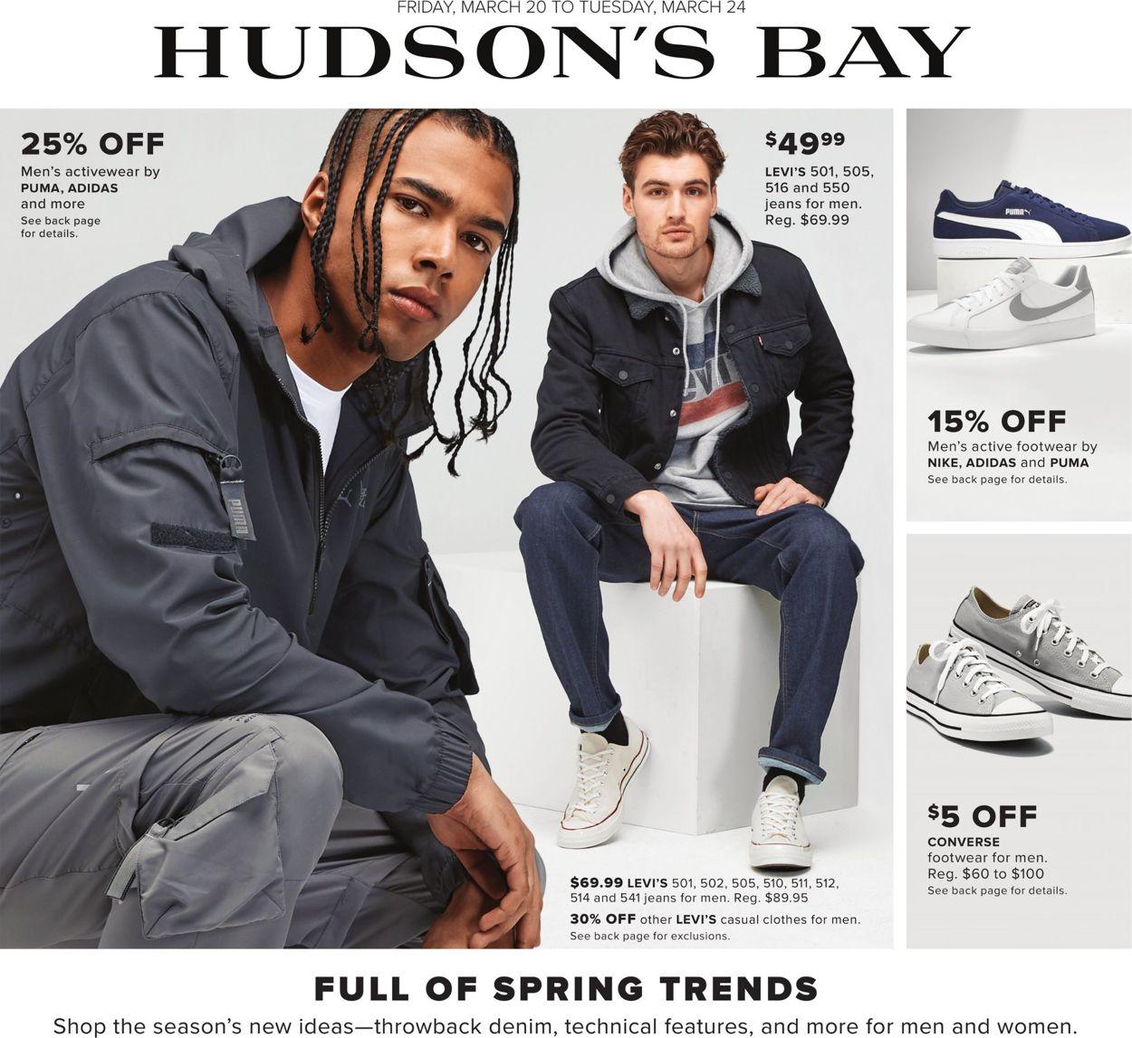 Hudson's Bay Flyer - 03/20-03/24/2020