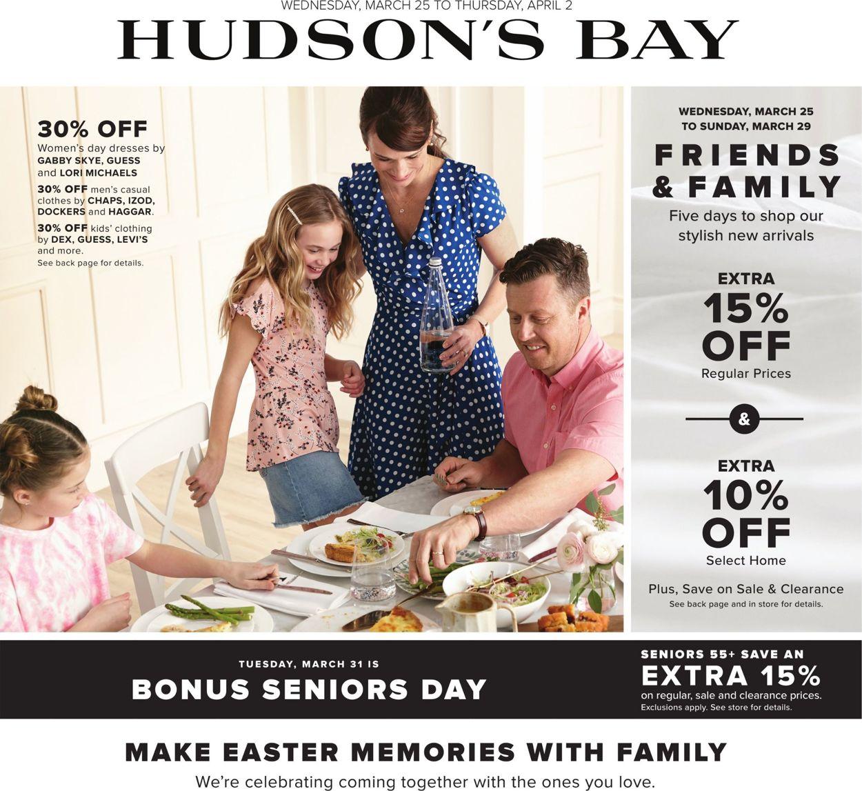 Hudson's Bay Flyer - 03/25-04/02/2020