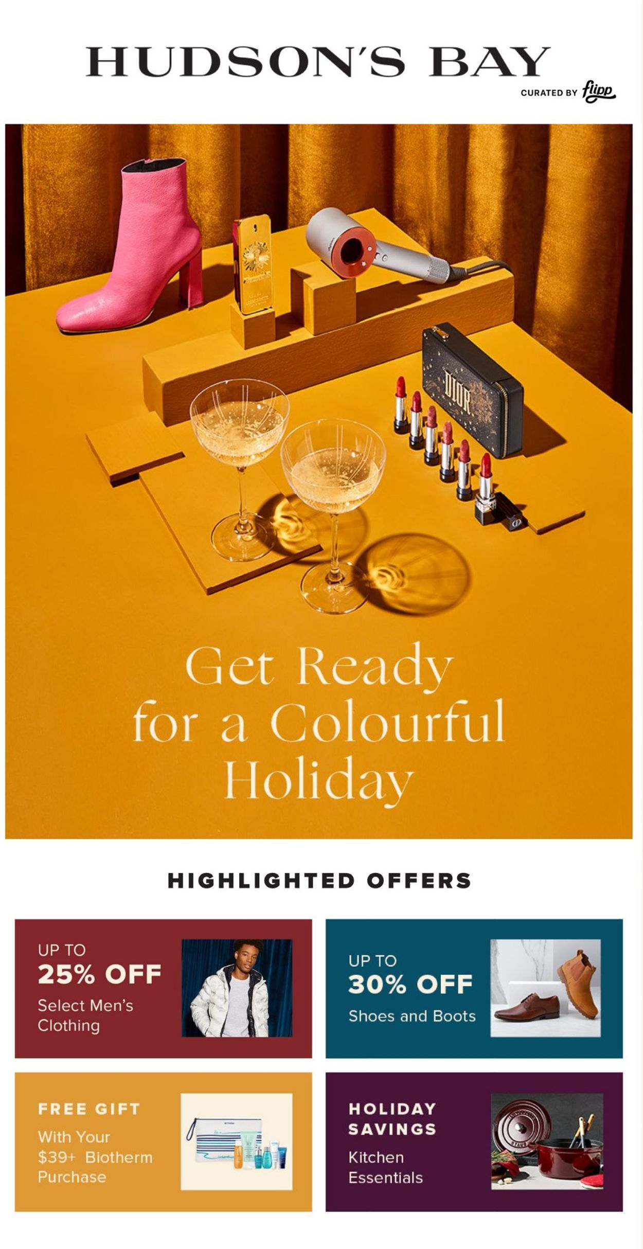 Hudson's Bay - Holiday 2020 Flyer - 10/30-11/05/2020