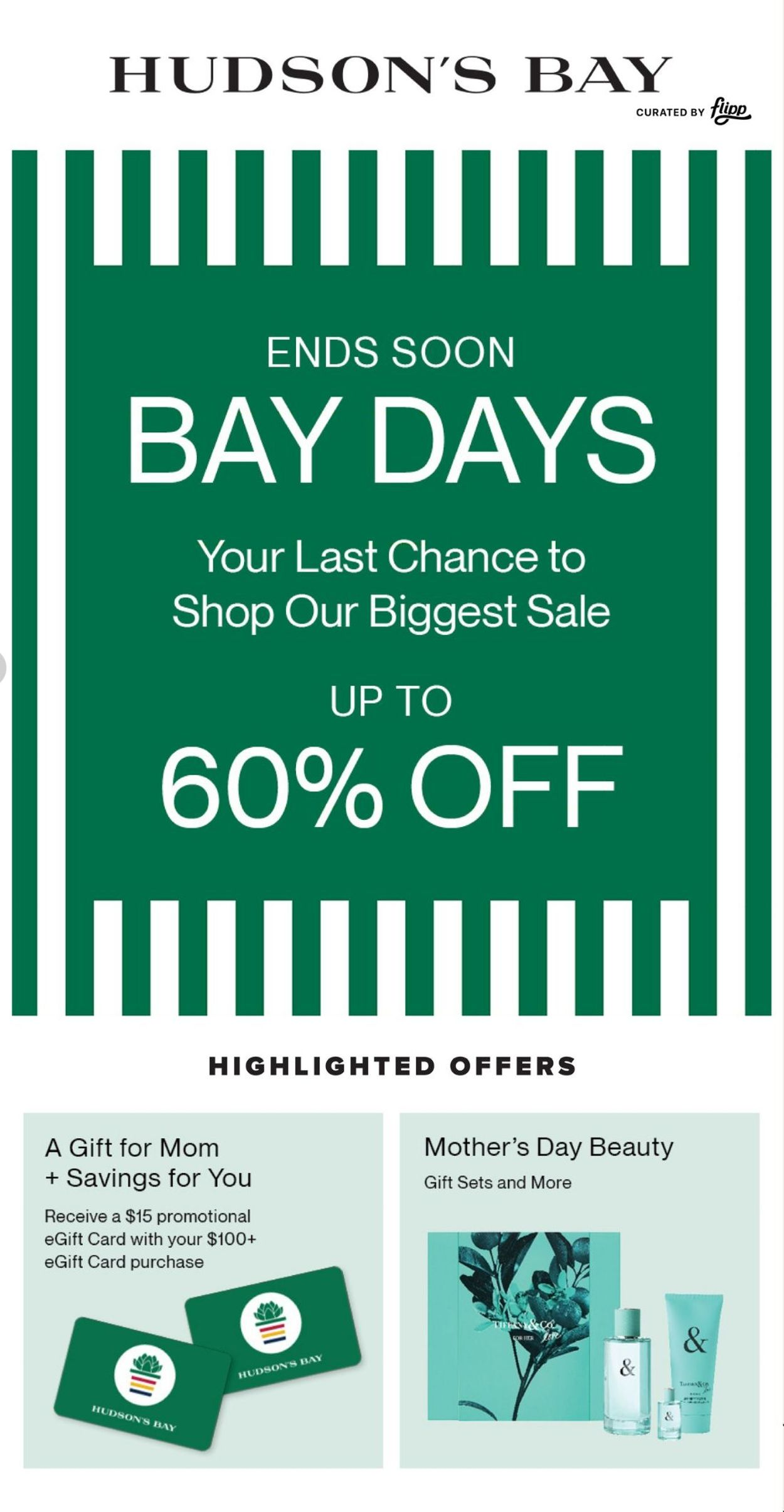 Hudson's Bay Flyer - 04/30-05/06/2021