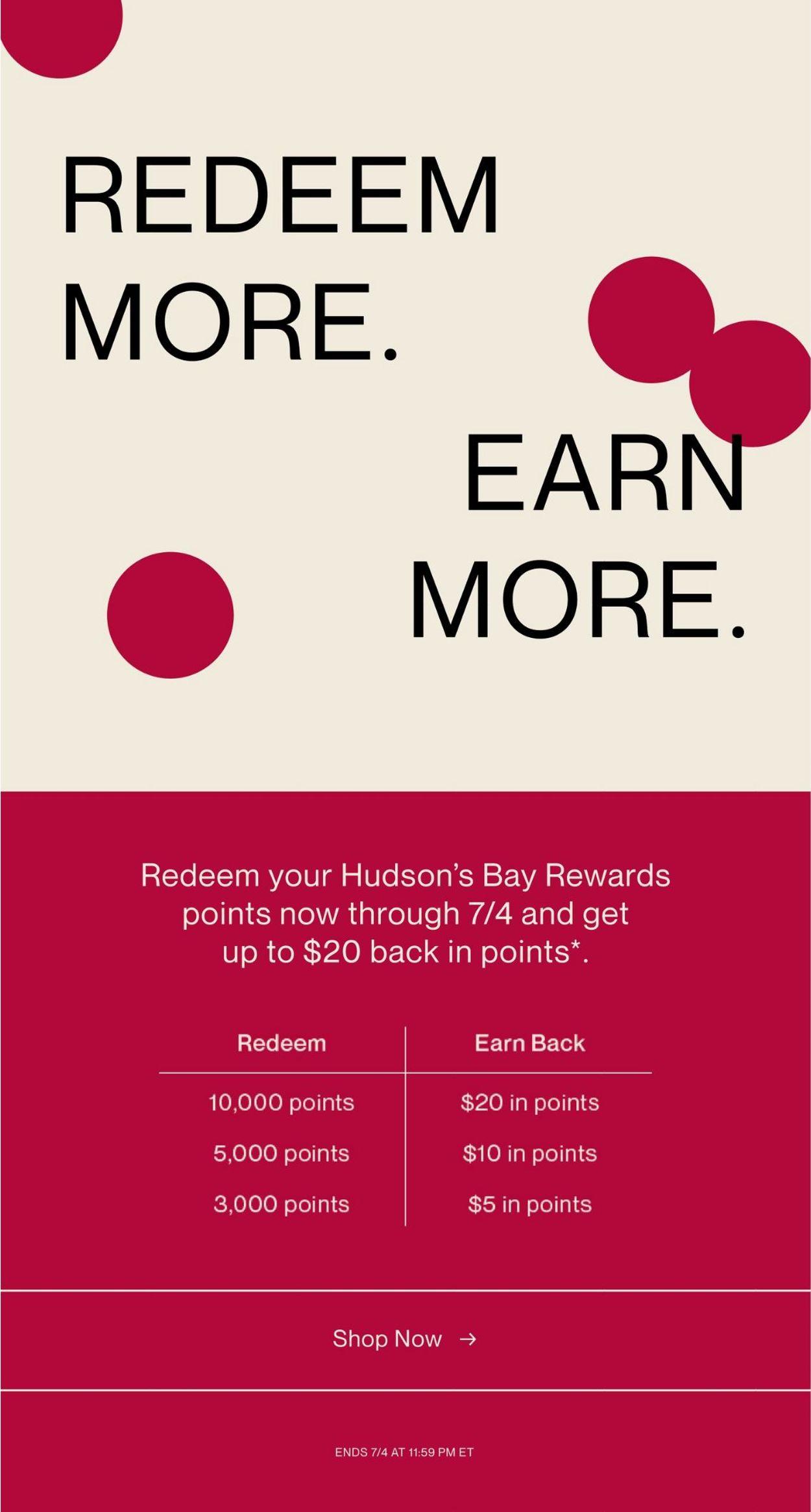 Hudson's Bay Flyer - 06/25-07/01/2021