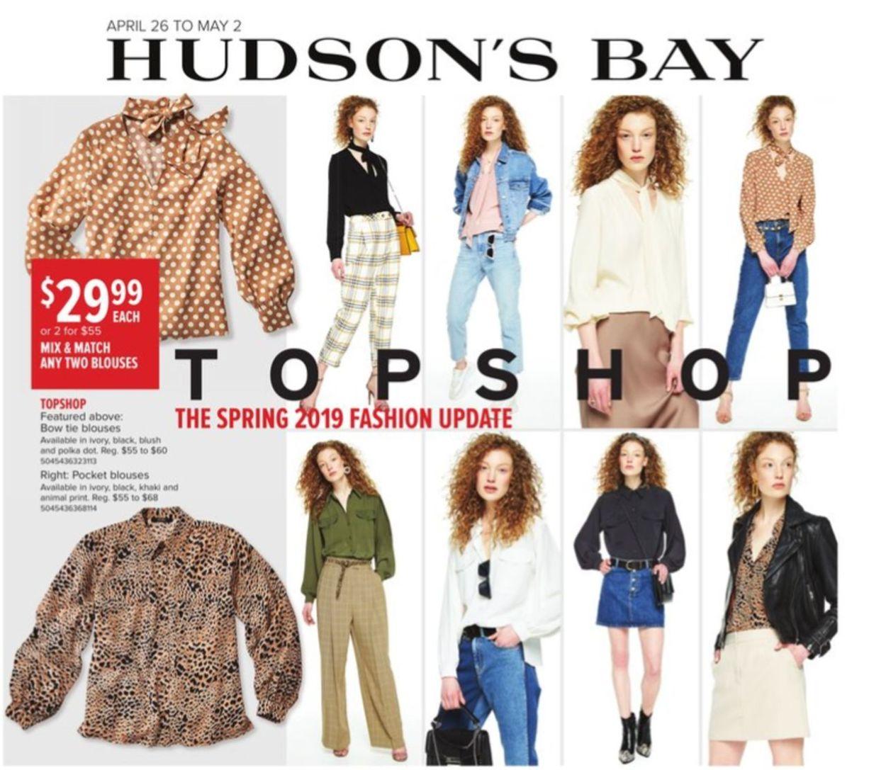 Hudson's Bay Flyer - 04/26-05/02/2019