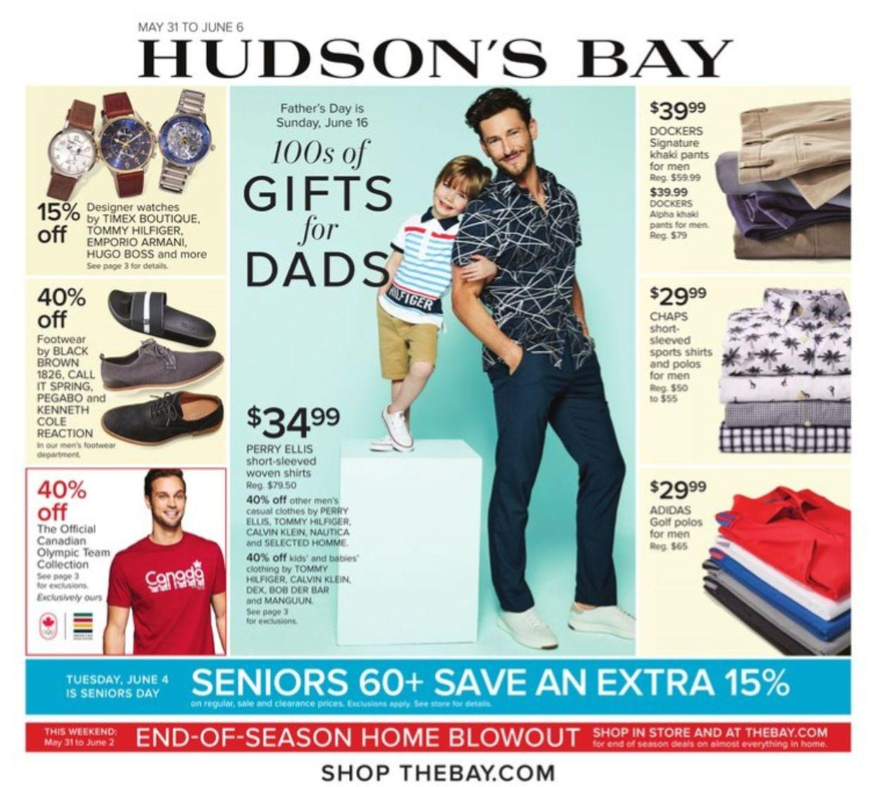 Hudson's Bay Flyer - 05/31-06/06/2019