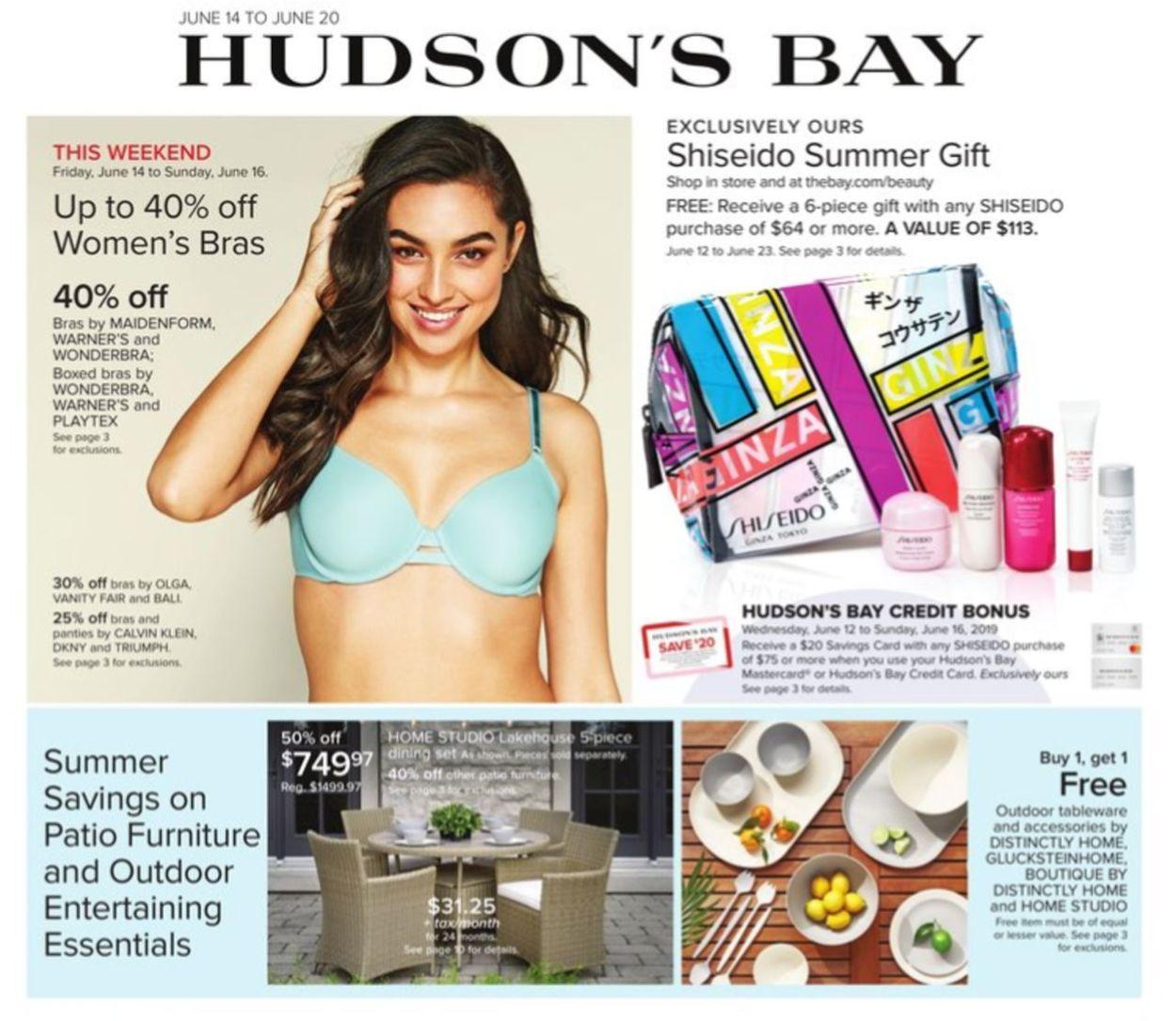Hudson's Bay Flyer - 06/14-06/20/2019