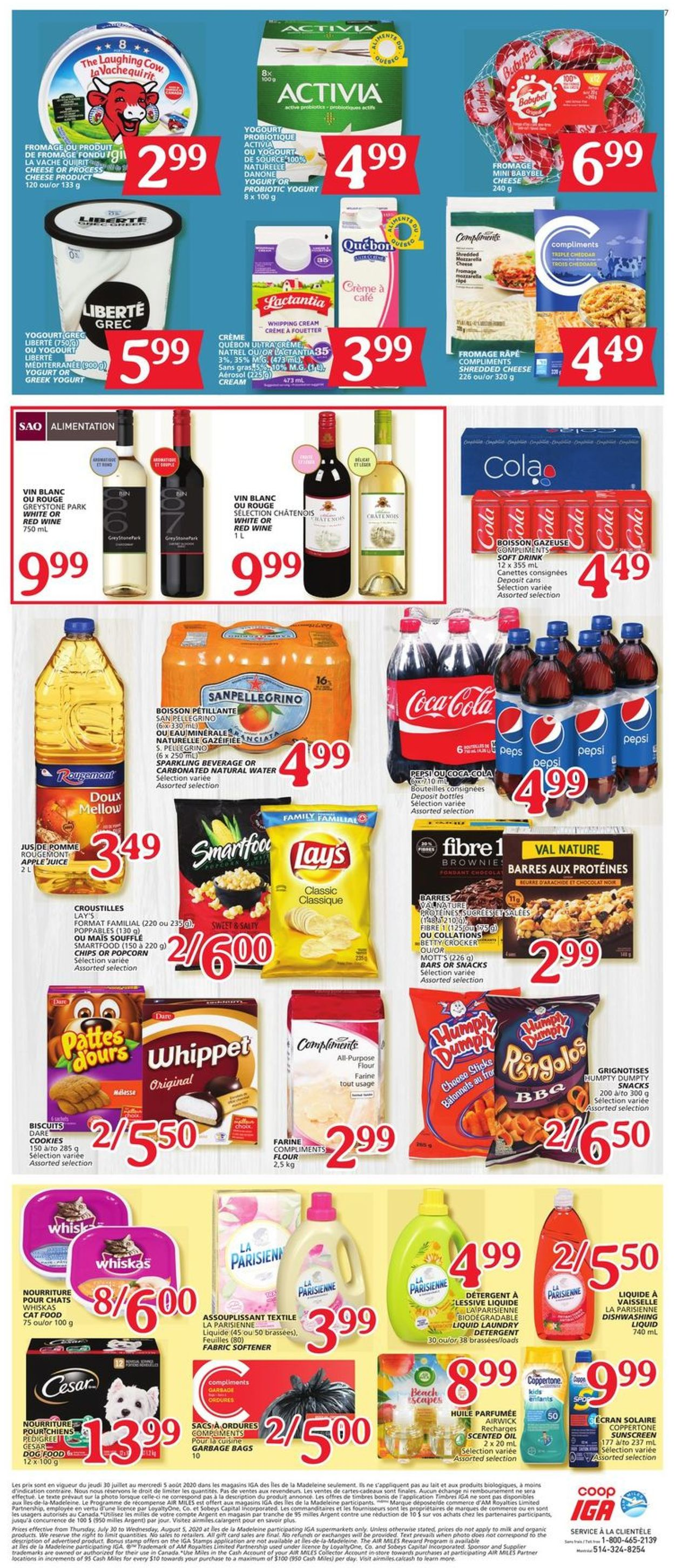IGA Flyer - 07/30-08/05/2020 (Page 7)