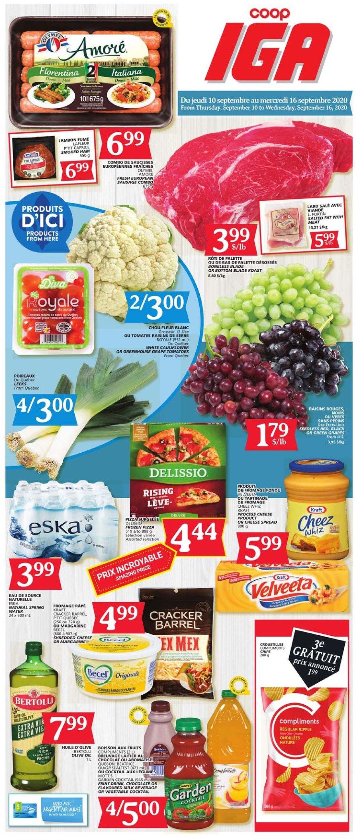 IGA Flyer - 09/10-09/16/2020 (Page 3)
