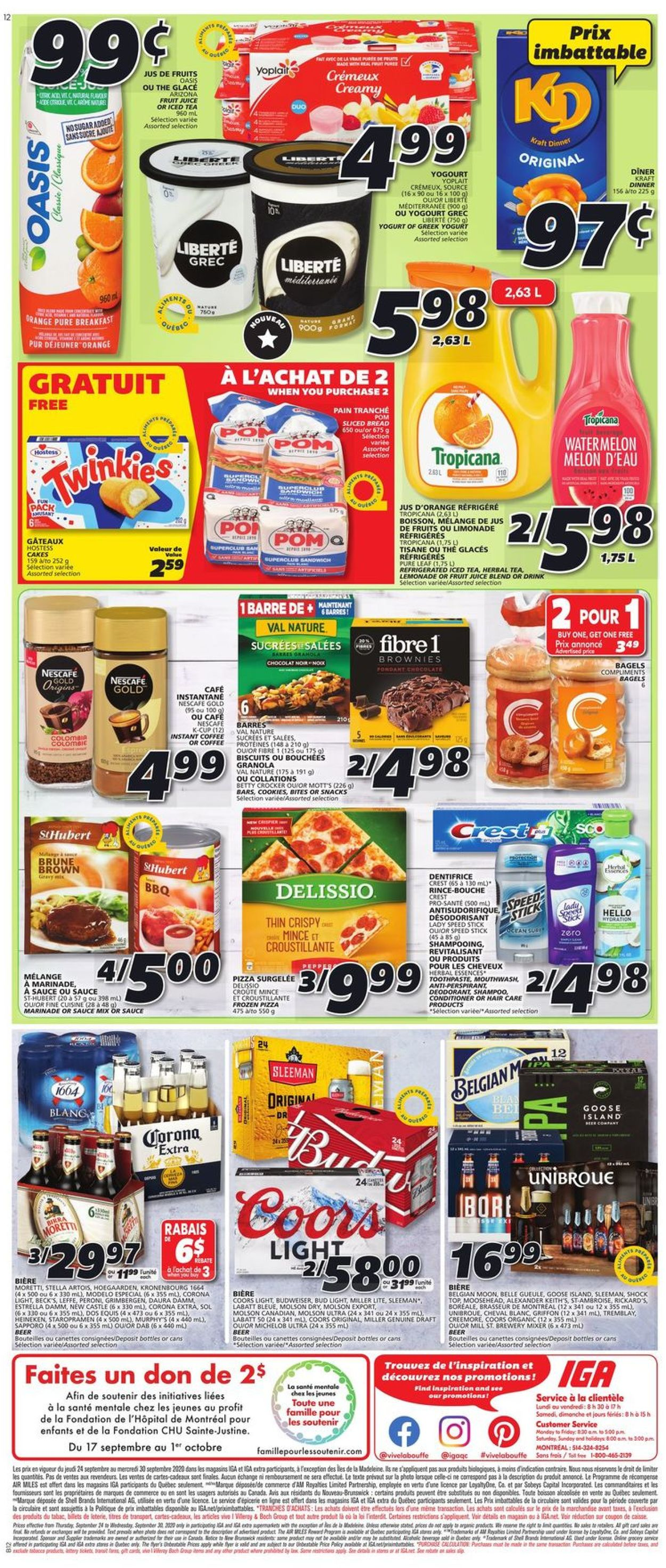 IGA Flyer - 09/24-09/30/2020 (Page 5)