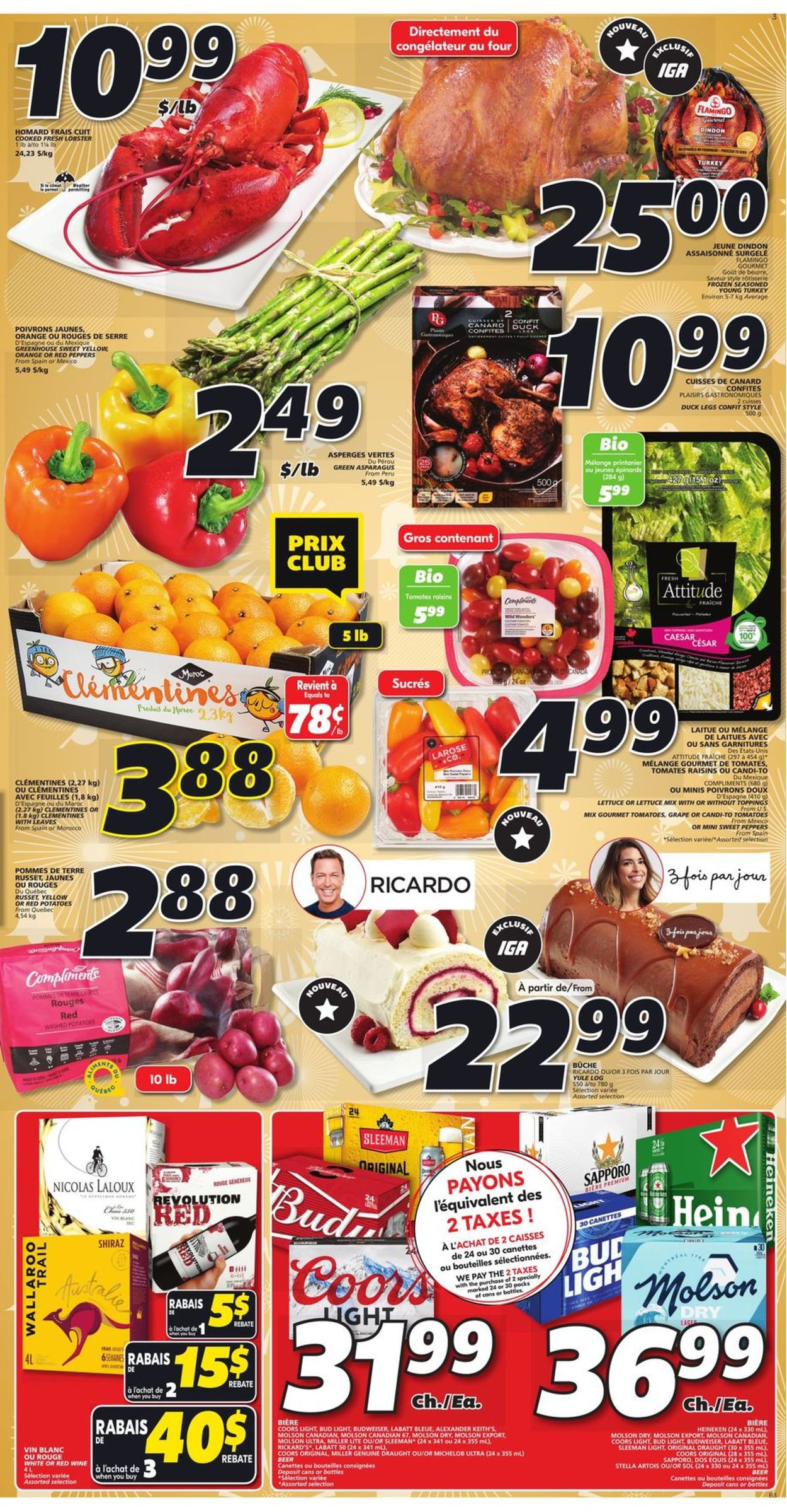 IGA - Christmas 2020 - Quebec Flyer - 12/17-12/23/2020 (Page 4)