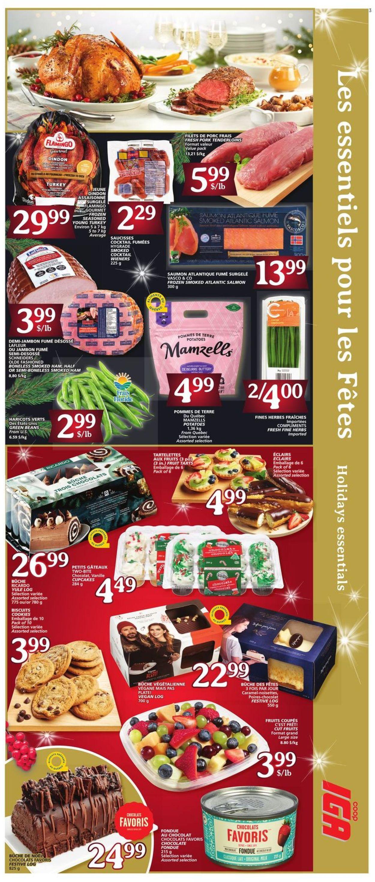 IGA - Christmas 2020 - Iles-de-la-Madeleine Flyer - 12/17-12/23/2020 (Page 3)