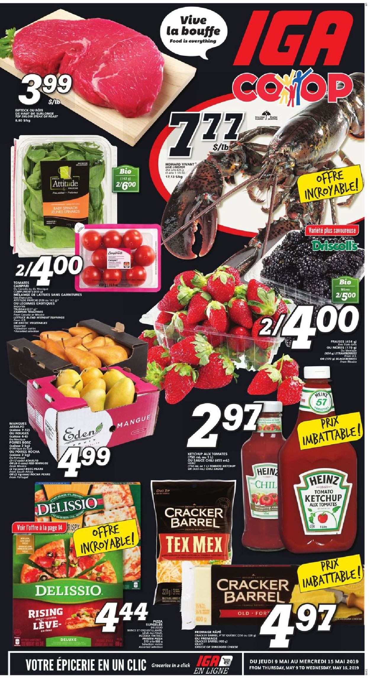 IGA Flyer - 05/09-05/15/2019 (Page 5)
