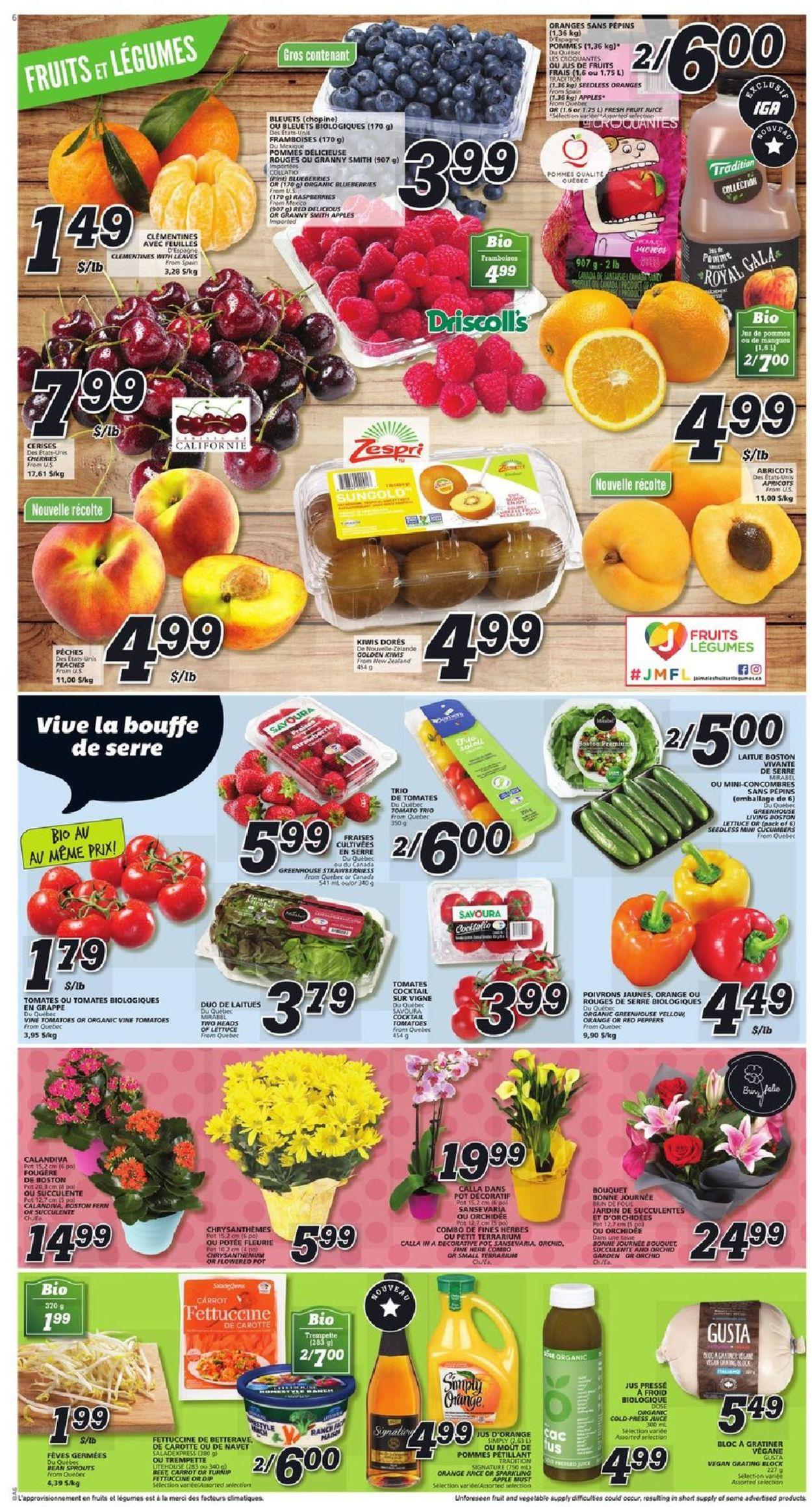 IGA Flyer - 05/09-05/15/2019 (Page 6)