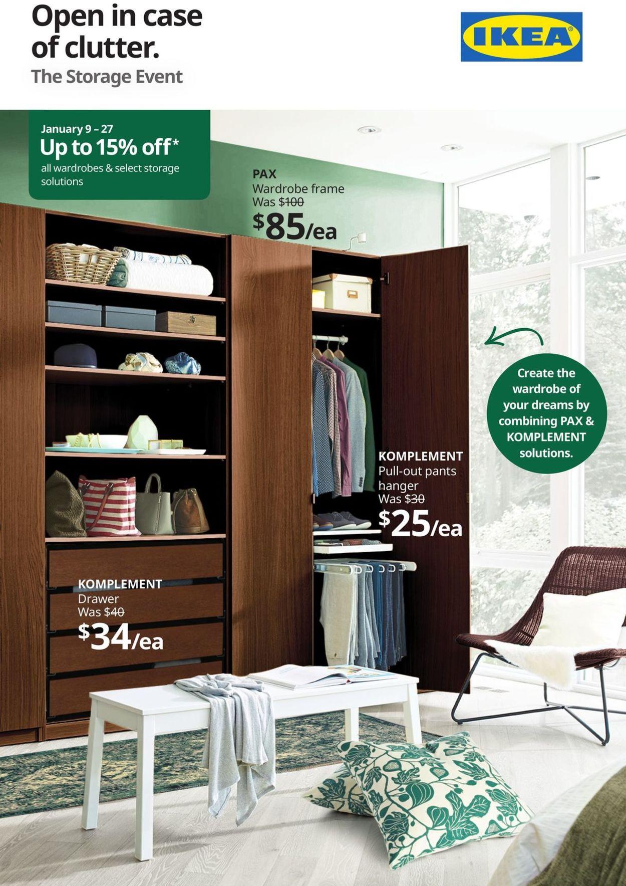 IKEA Flyer - 01/09-01/27/2020
