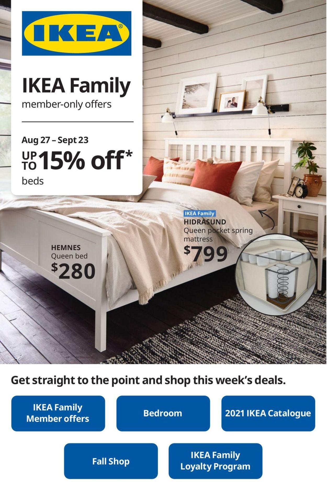 IKEA Flyer - 08/27-09/23/2020