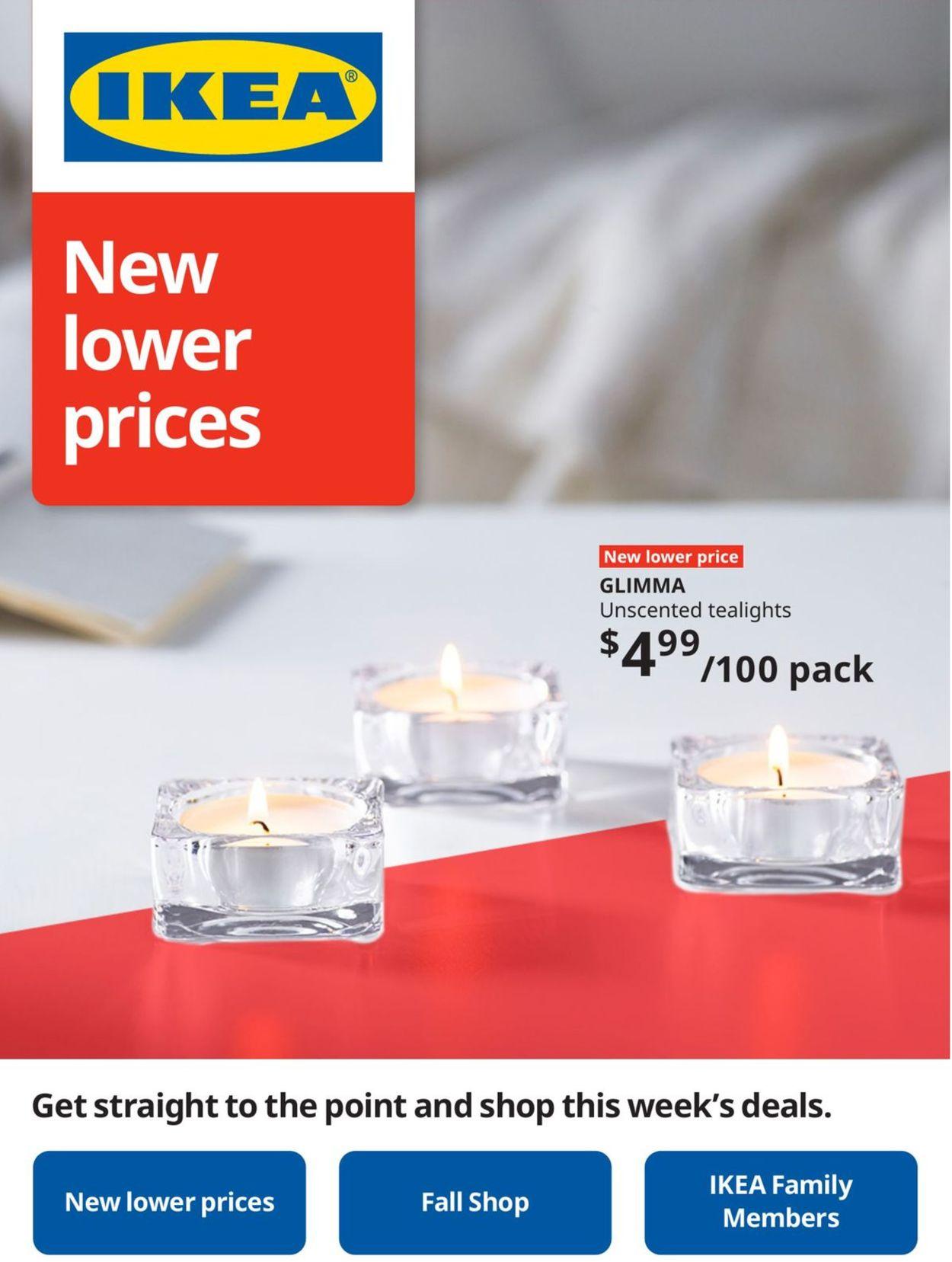 IKEA Flyer - 09/24-09/30/2020