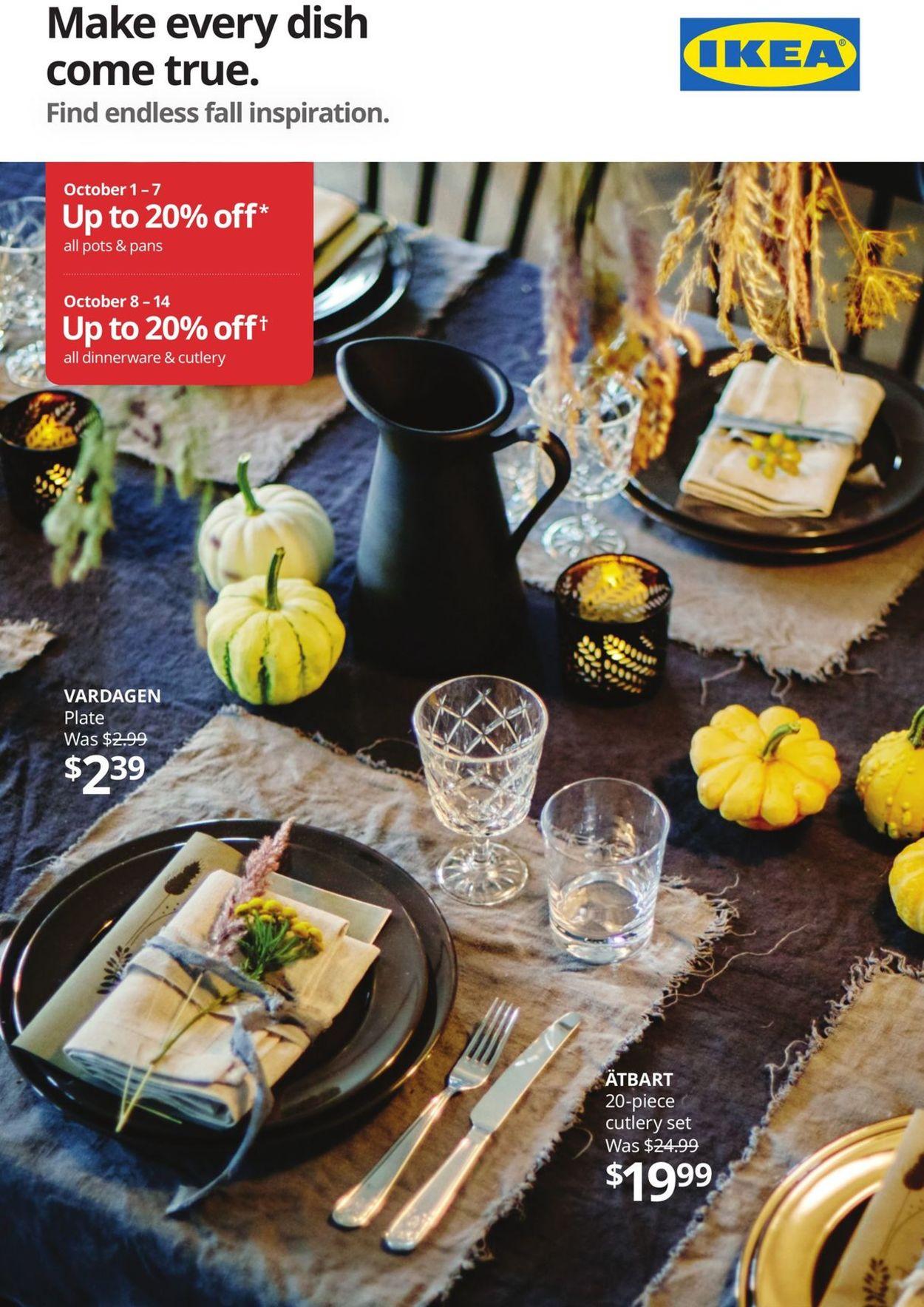 IKEA Flyer - 10/01-10/14/2020