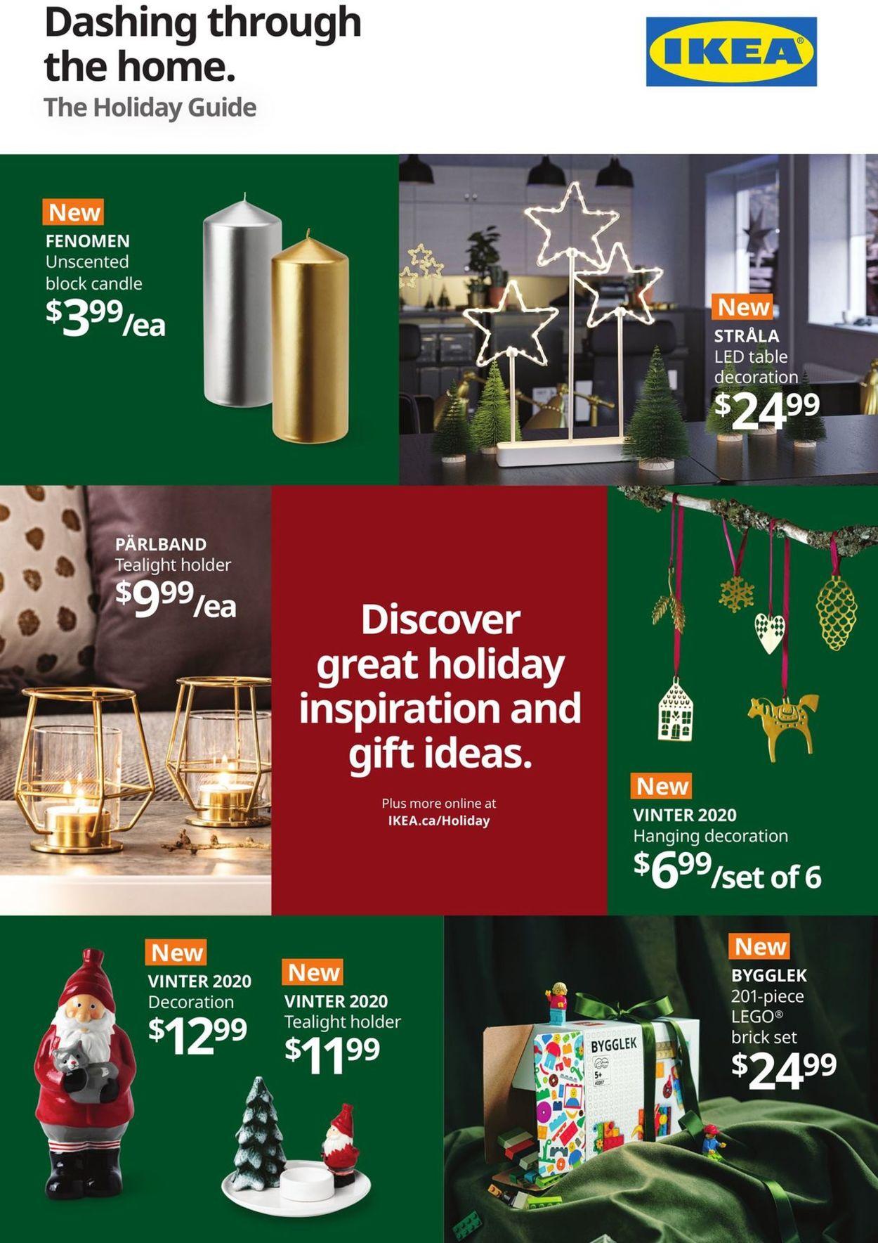 IKEA - Holiday 2020 Flyer - 11/12-11/25/2020