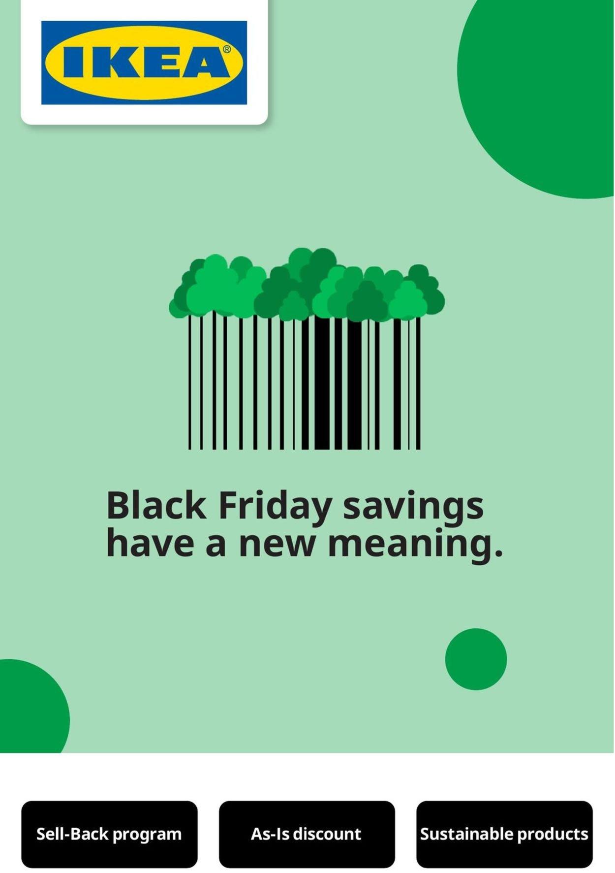 IKEA - Black Friday 2020 Flyer - 11/26-11/29/2020