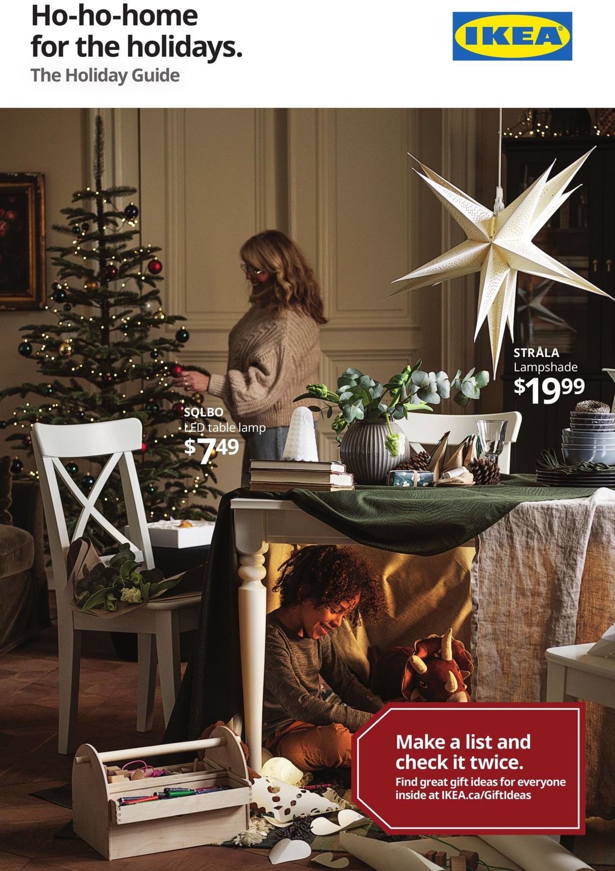 IKEA - Holiday Guide Flyer - 11/30-12/16/2020