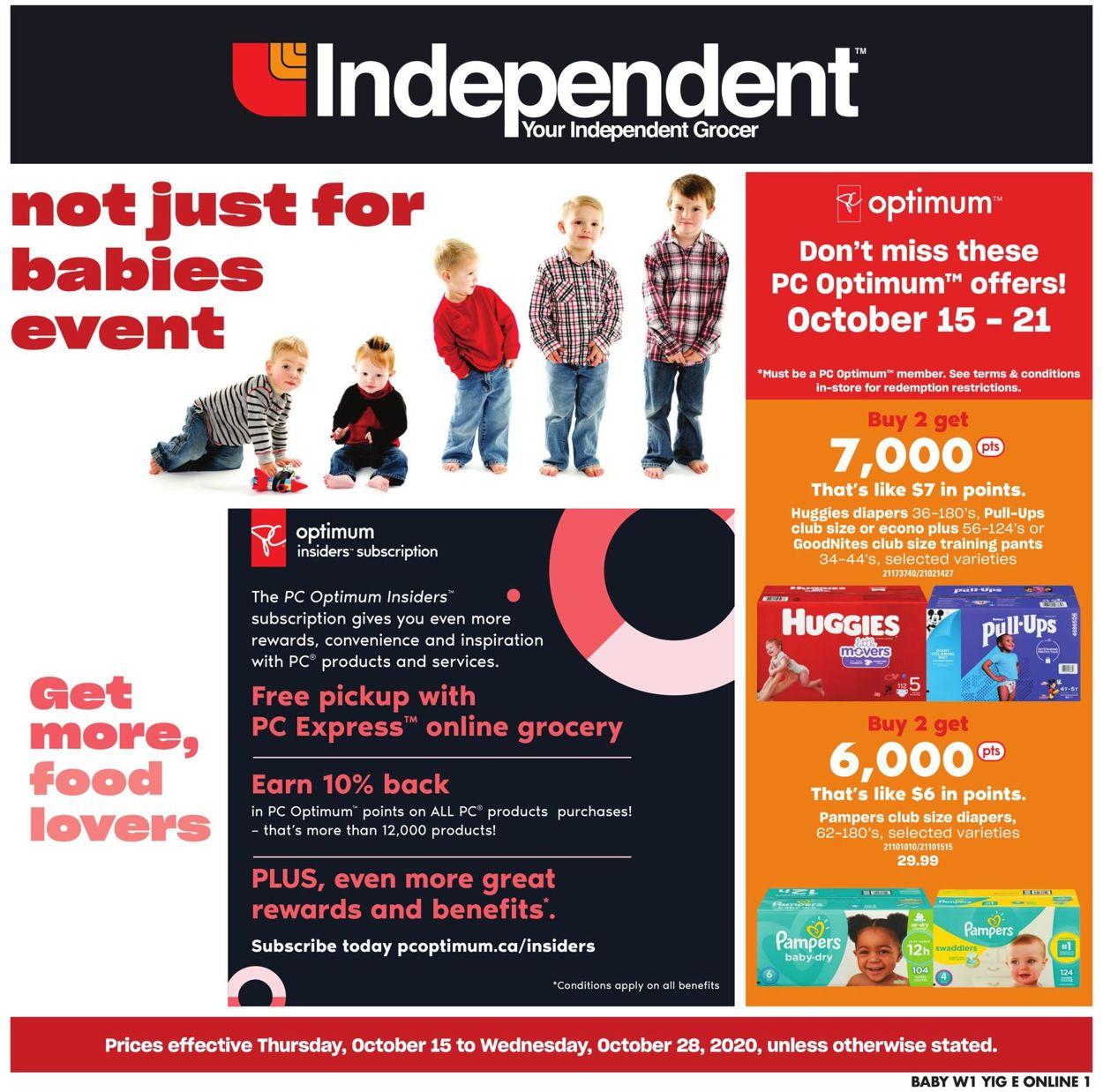 Independent Flyer - 10/15-10/28/2020