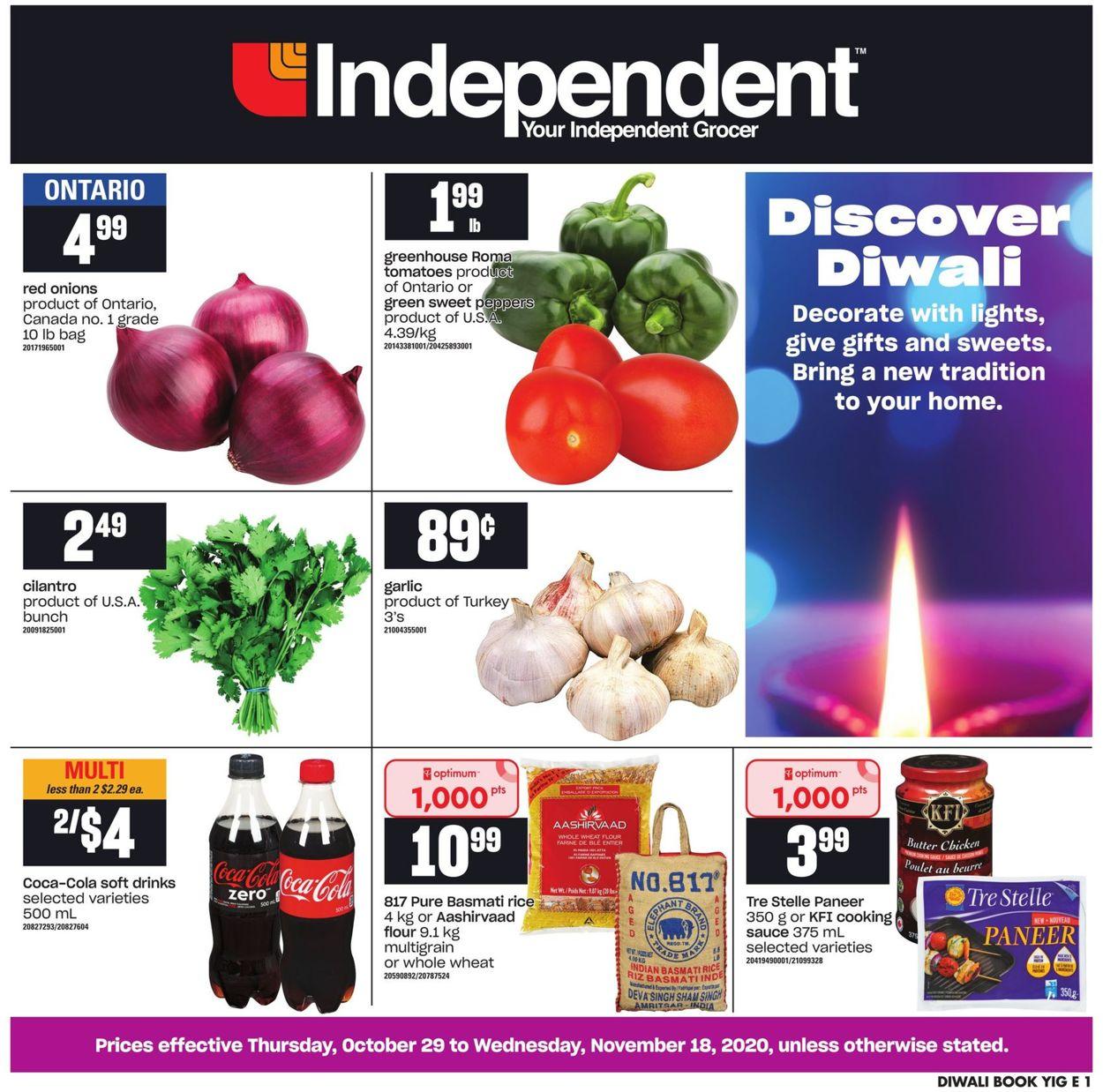 Independent Flyer - 10/29-11/18/2020