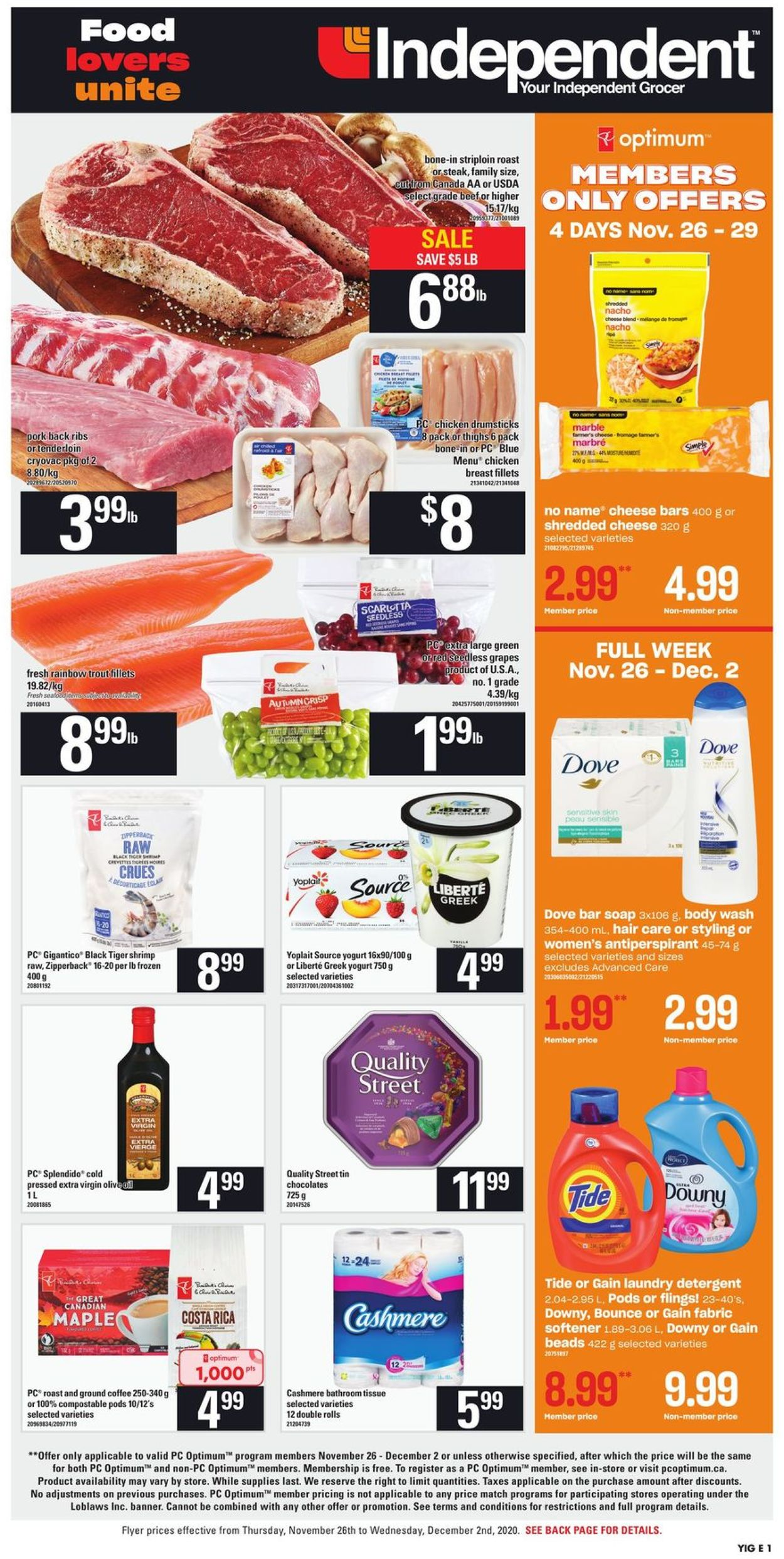 Independent - Black Friday 2020 Flyer - 11/26-12/02/2020 (Page 3)