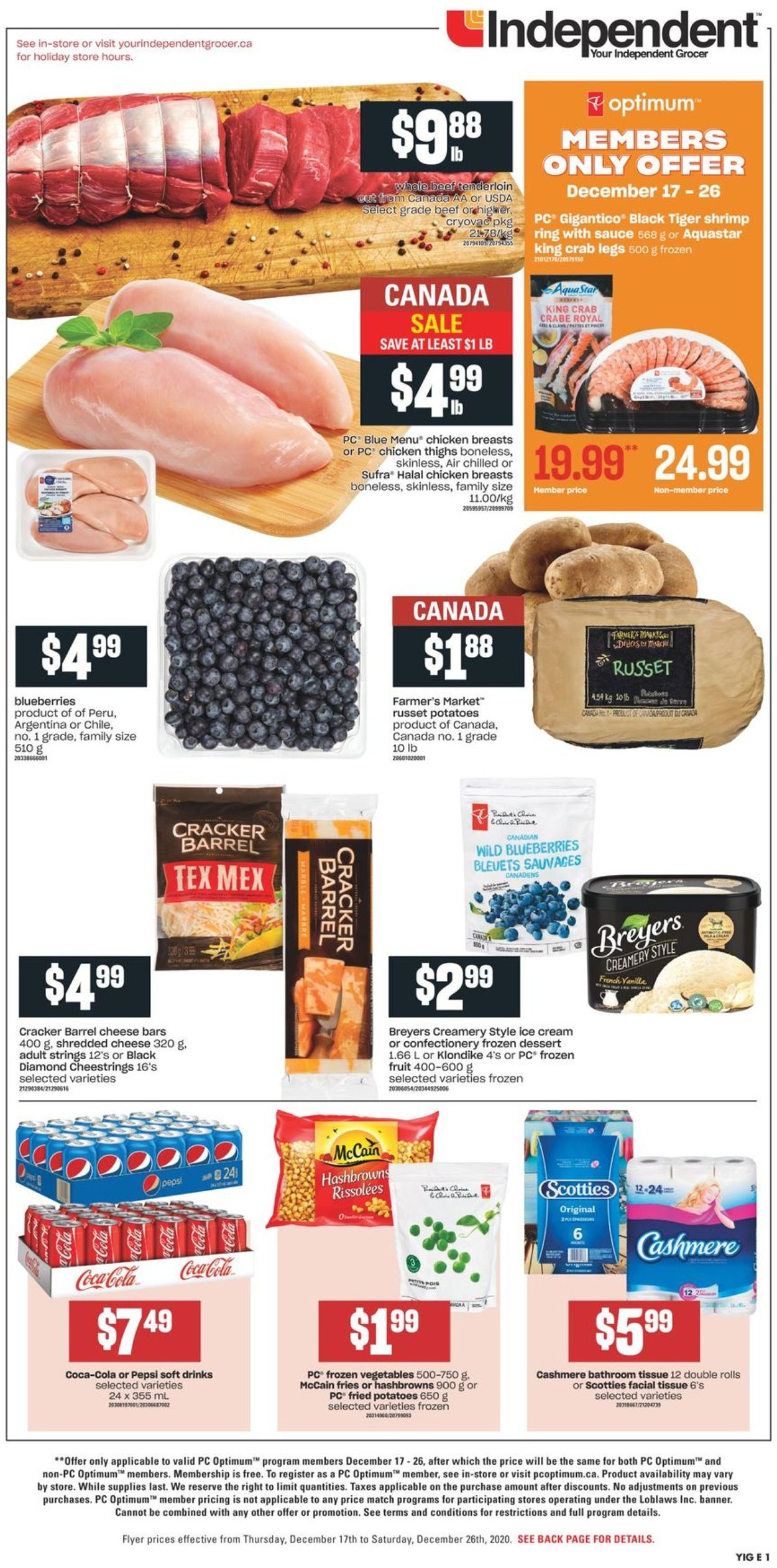 Independent - Holiday 2020 Flyer - 12/17-12/26/2020 (Page 3)