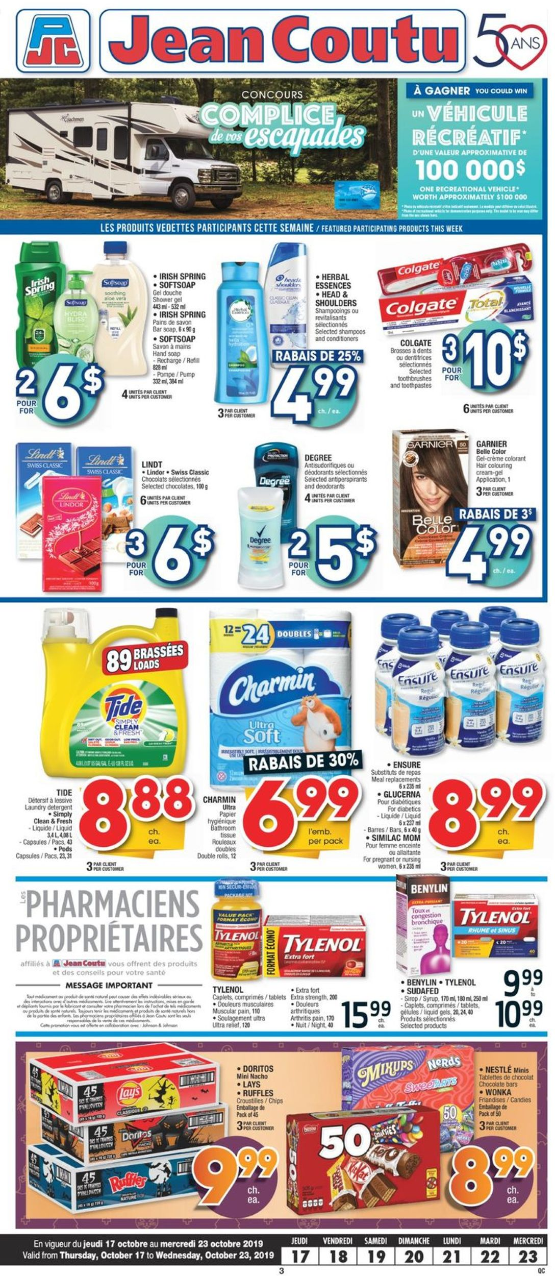 Jean Coutu Flyer - 10/17-10/23/2019 (Page 2)