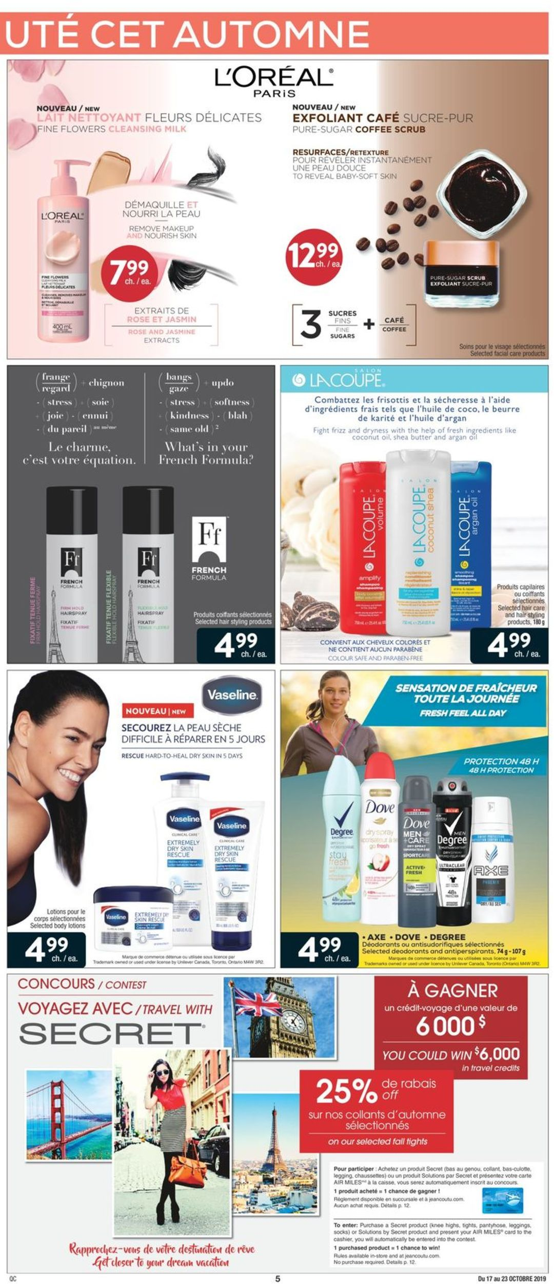 Jean Coutu Flyer - 10/17-10/23/2019 (Page 4)
