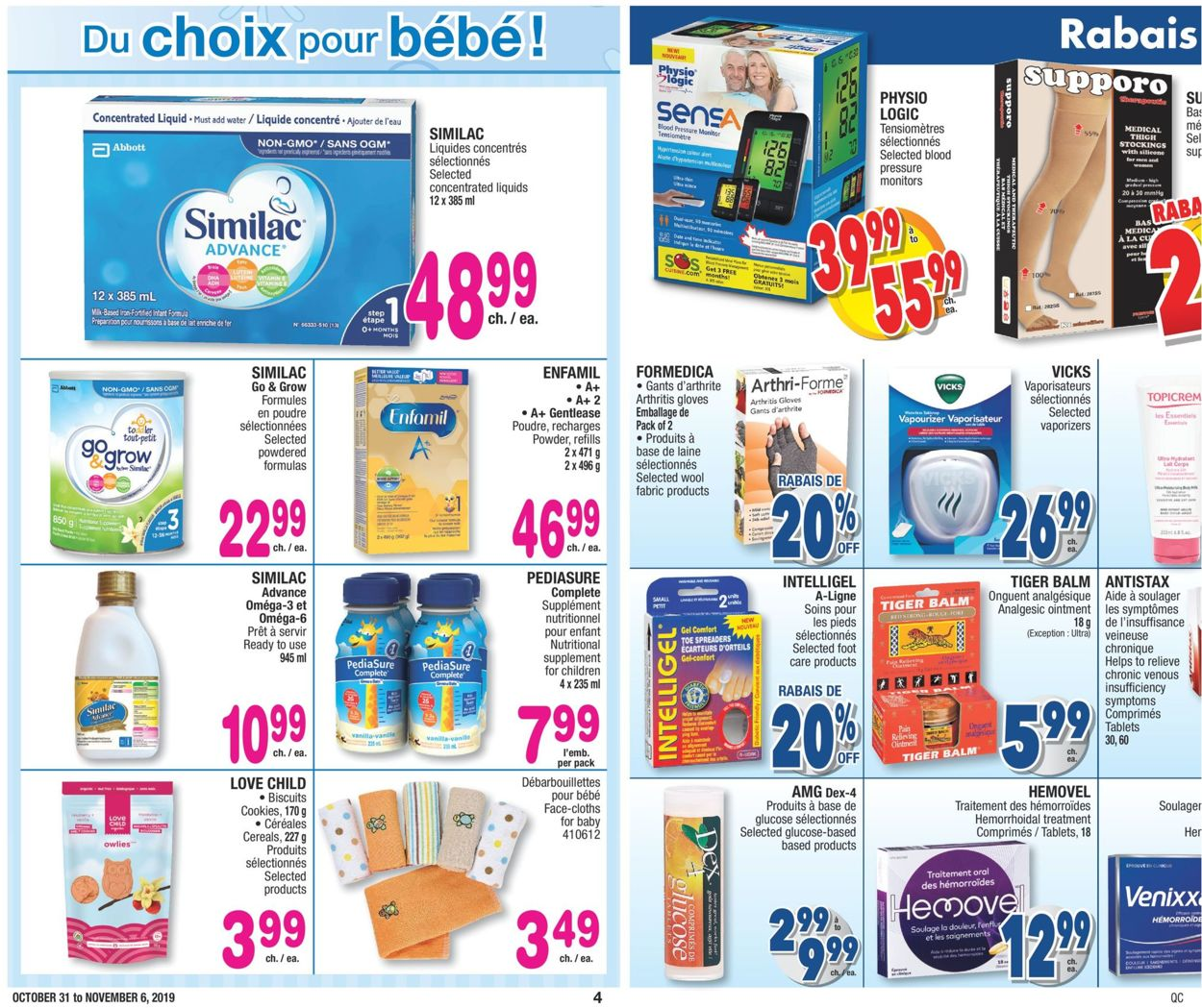 Jean Coutu Flyer - 10/31-11/06/2019 (Page 4)