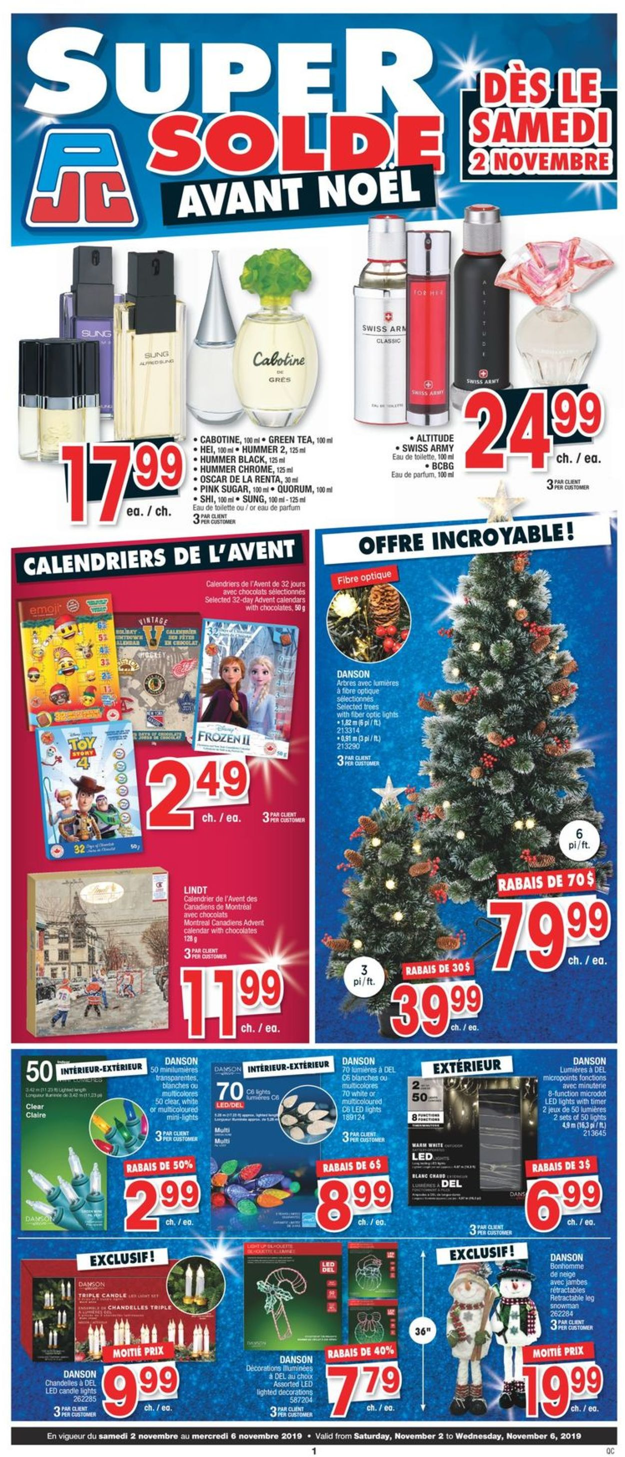 Jean Coutu Flyer - 11/02-11/06/2019