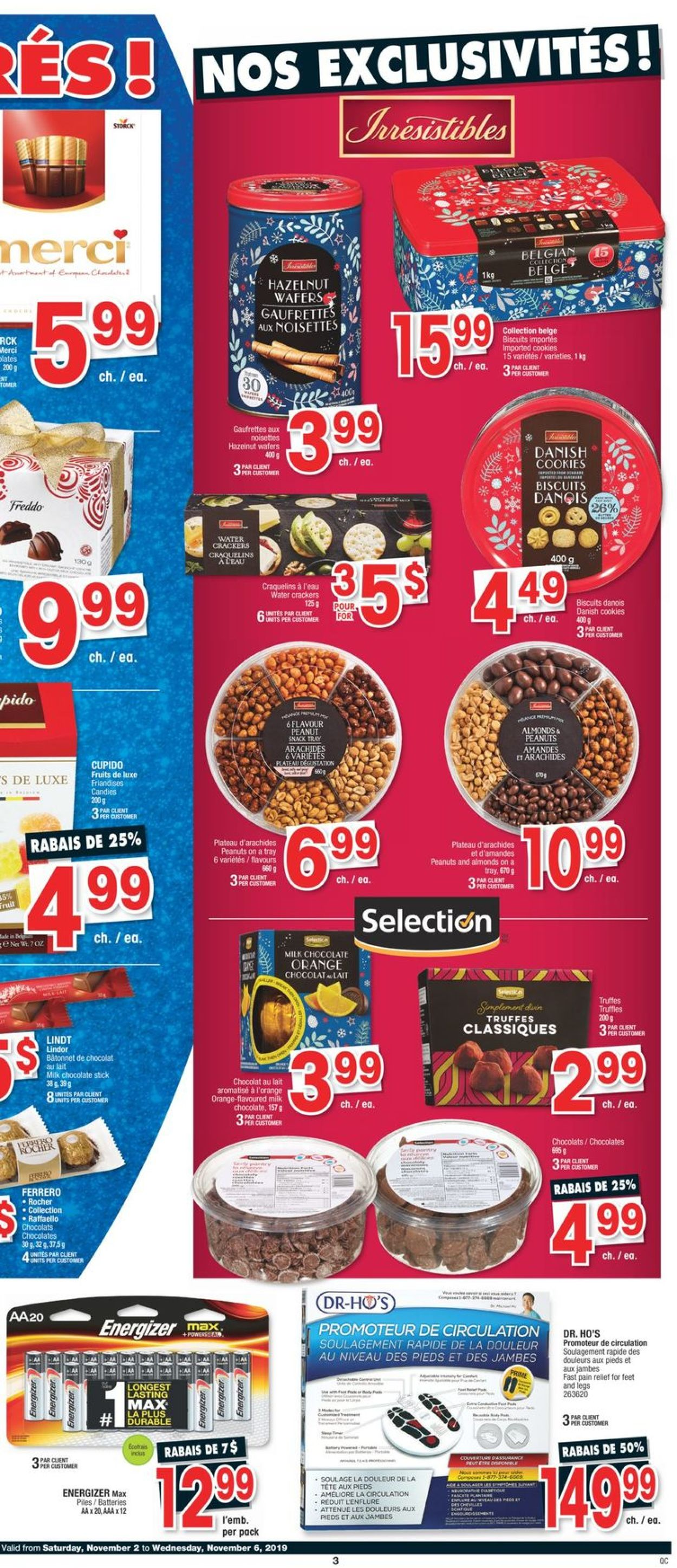 Jean Coutu Flyer - 11/02-11/06/2019 (Page 3)