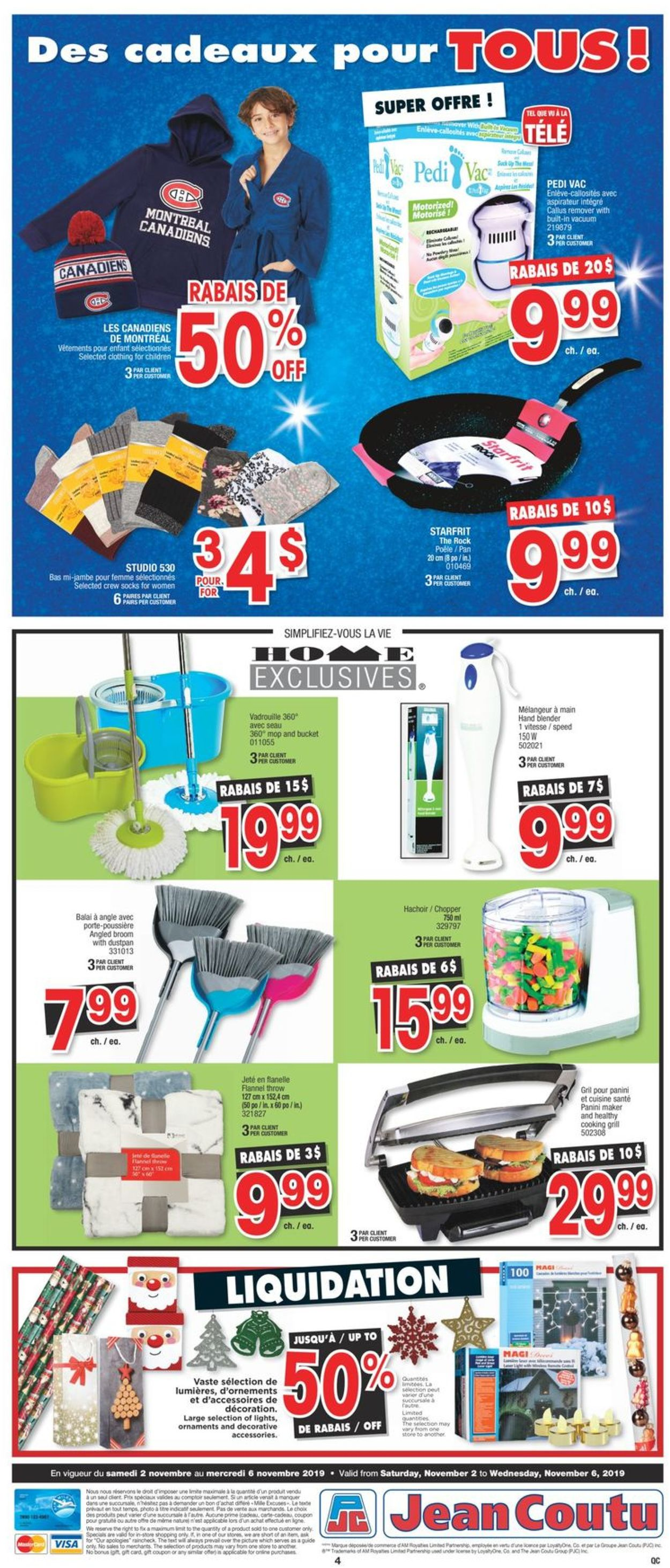 Jean Coutu Flyer - 11/02-11/06/2019 (Page 4)