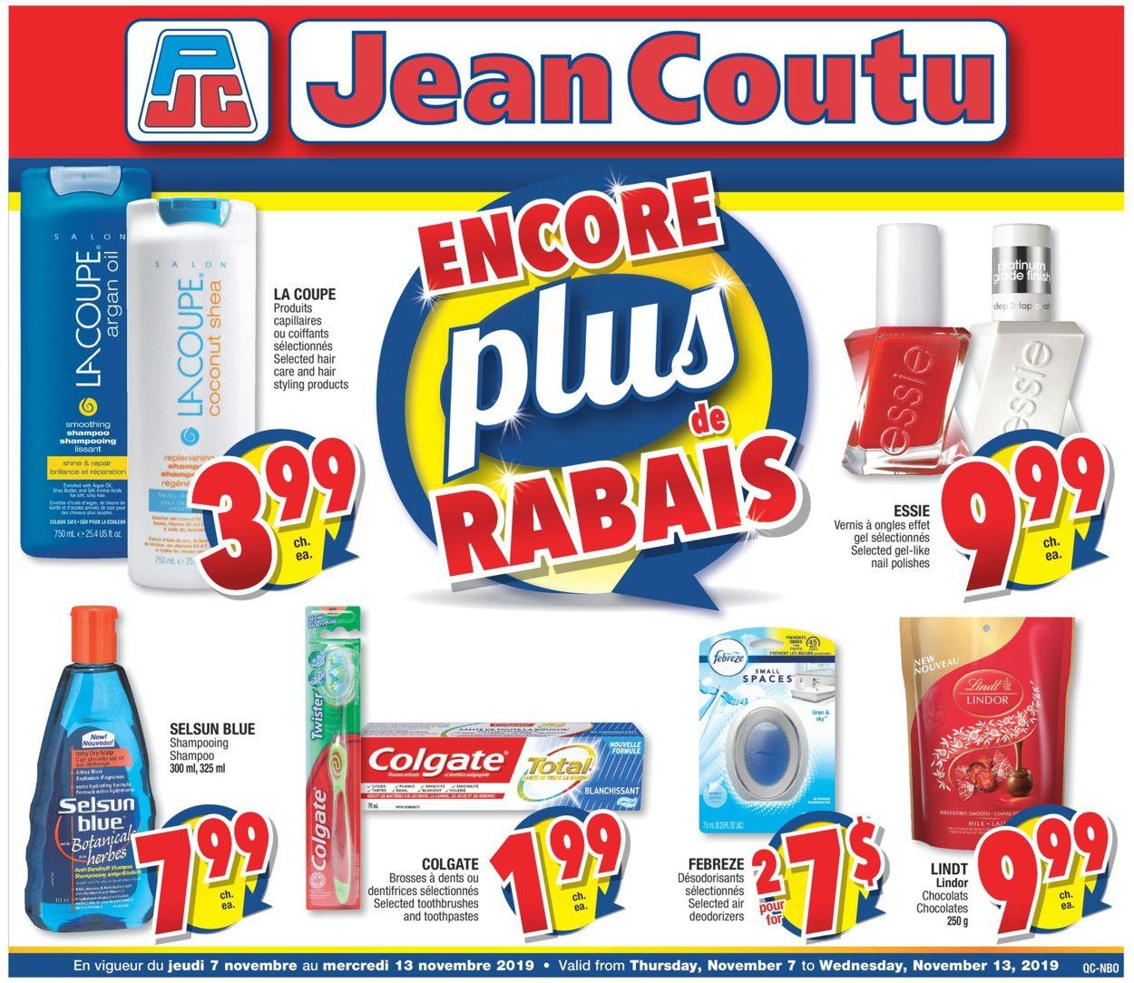 Jean Coutu Flyer - 11/07-11/13/2019