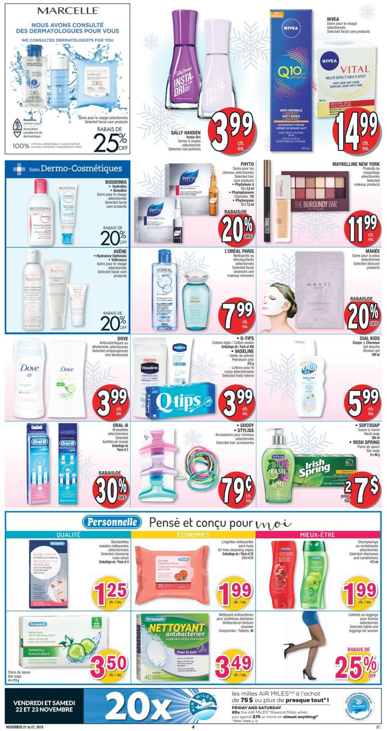 Jean Coutu Holiday Flyer 2019 Flyer - 11/21-11/27/2019 (Page 3)